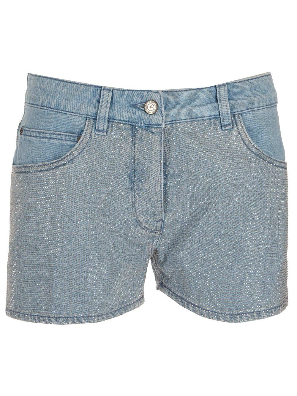Golden Goose GOLDEN GOOSE WOMEN'S BLUE COTTON SHORTS