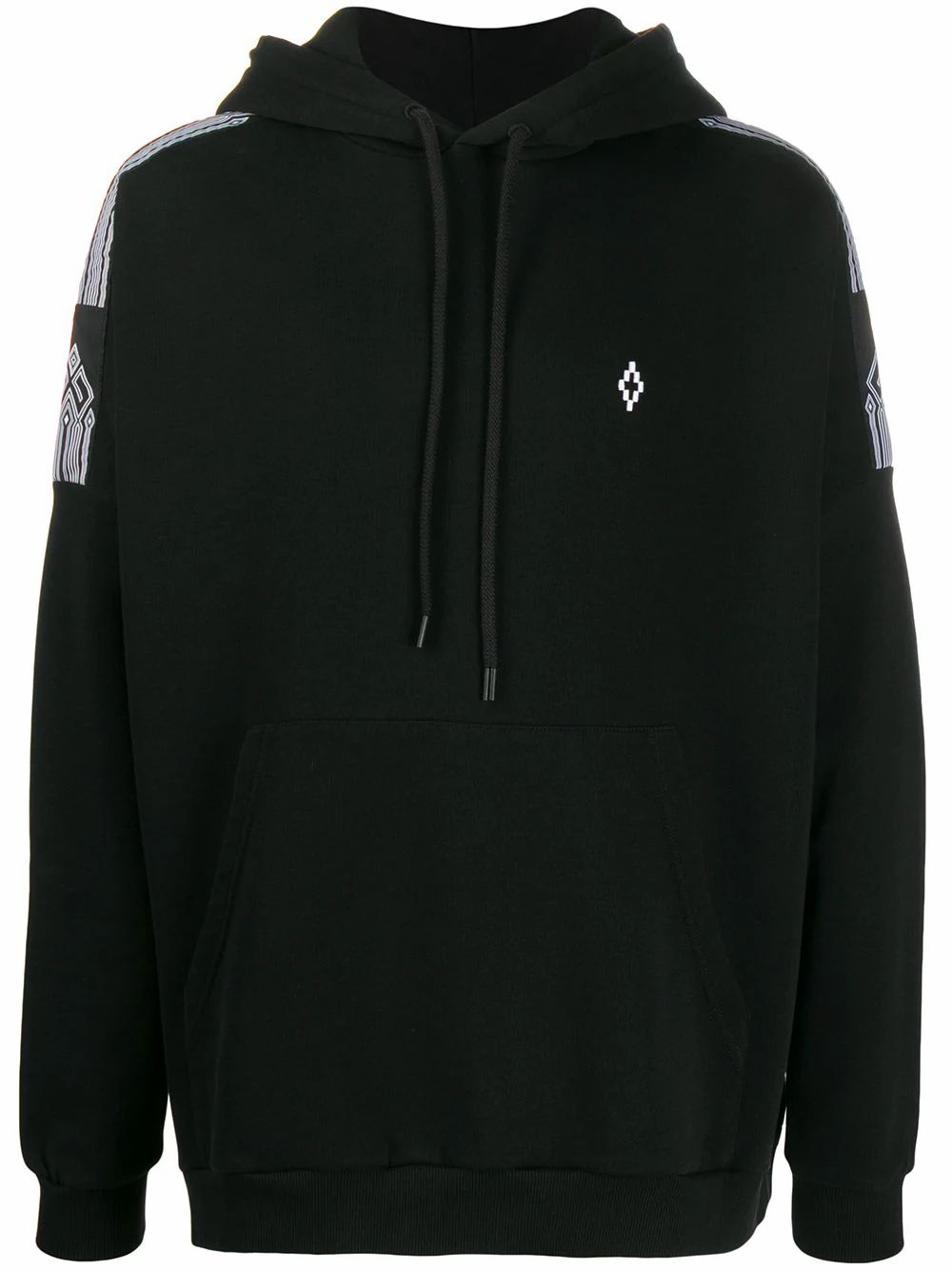 Marcelo Burlon County Of Milan MARCELO BURLON MEN'S BLACK COTTON SWEATSHIRT