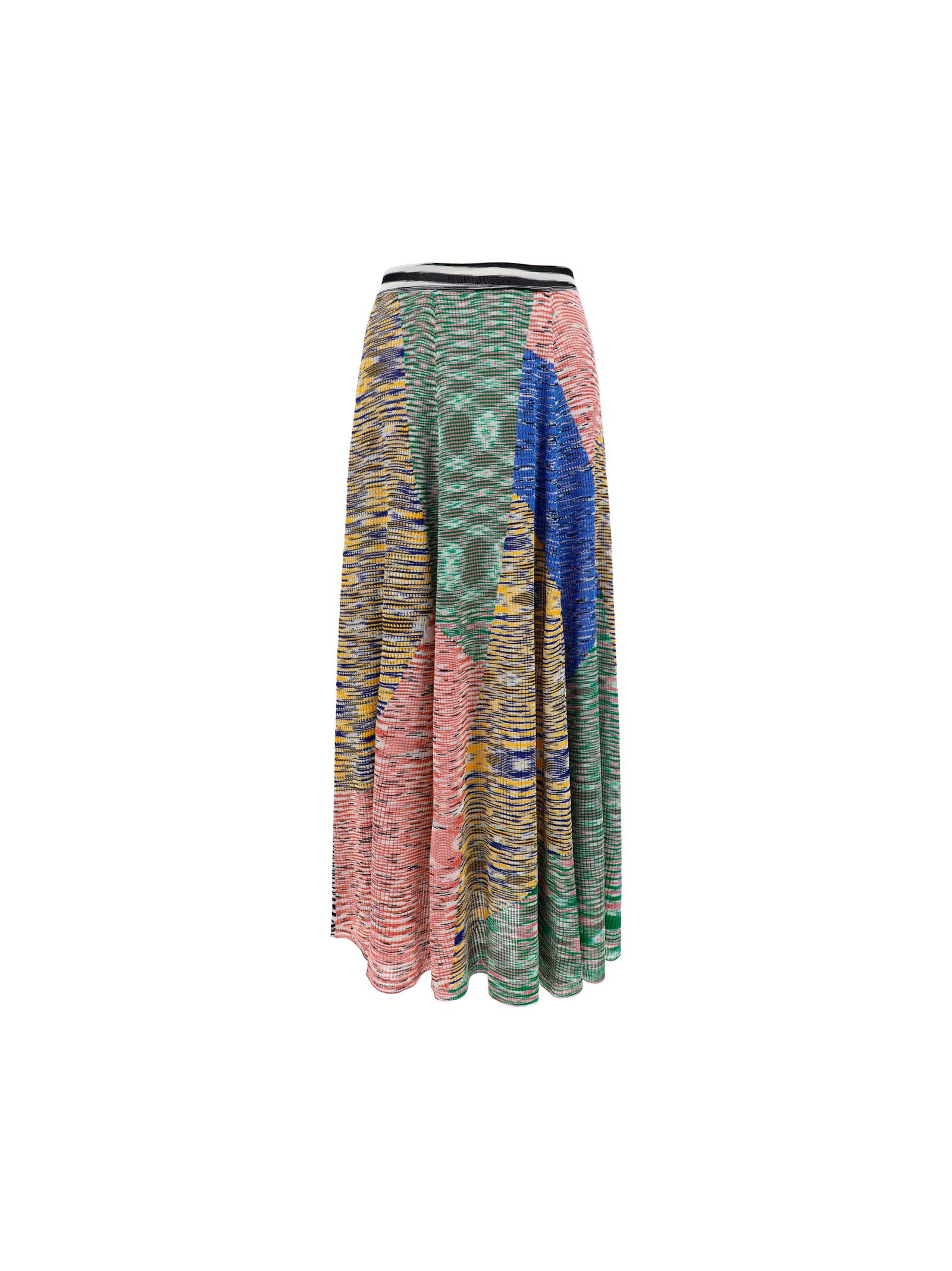 Missoni Midi skirts MISSONI WOMEN'S GREEN VISCOSE SKIRT