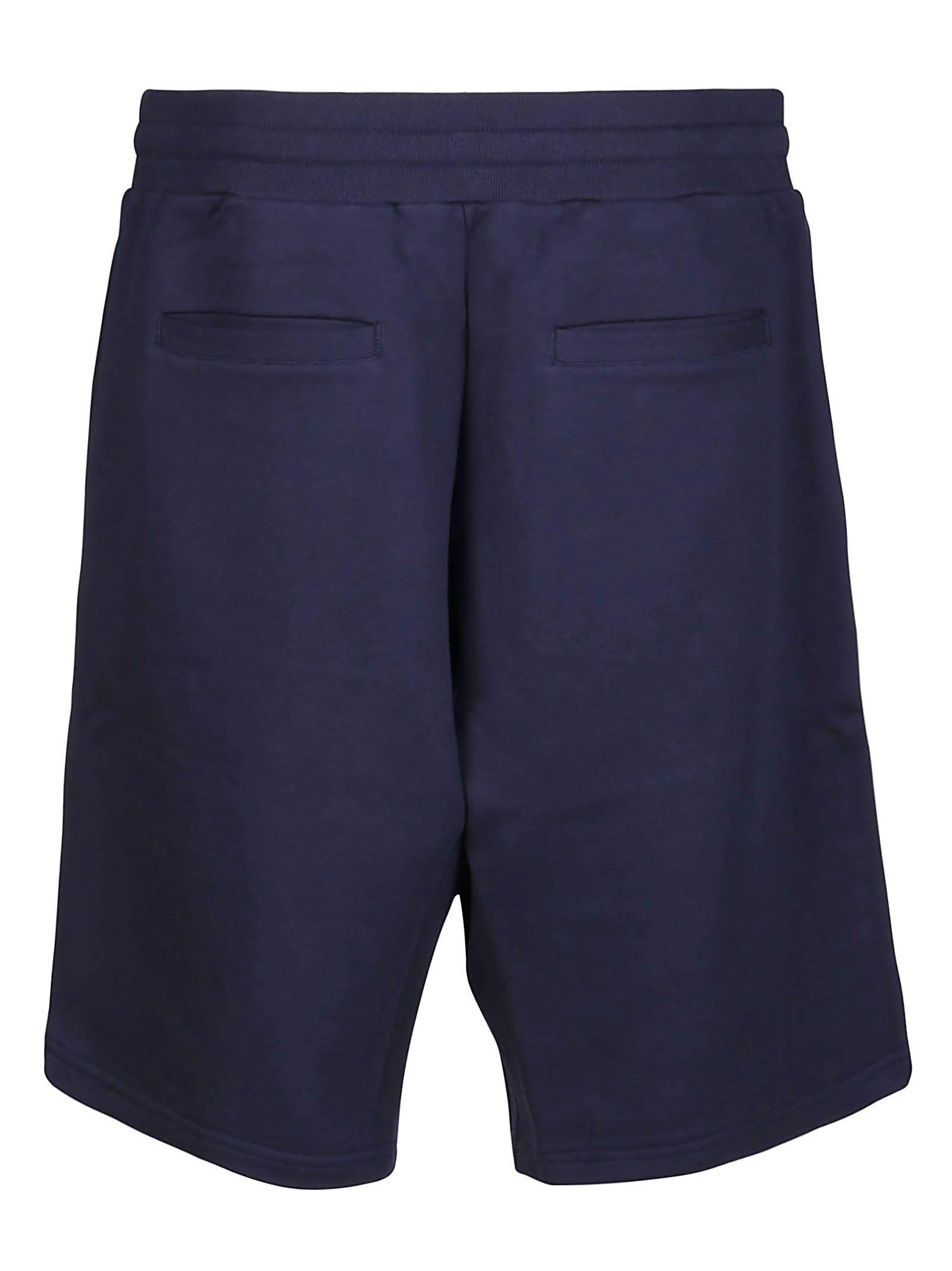 MOSCHINO Cottons MOSCHINO MEN'S BLUE COTTON SHORTS
