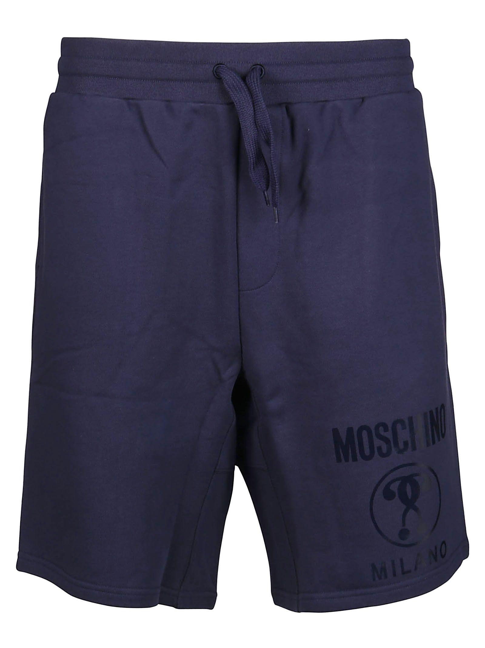 Moschino MOSCHINO MEN'S BLUE COTTON SHORTS