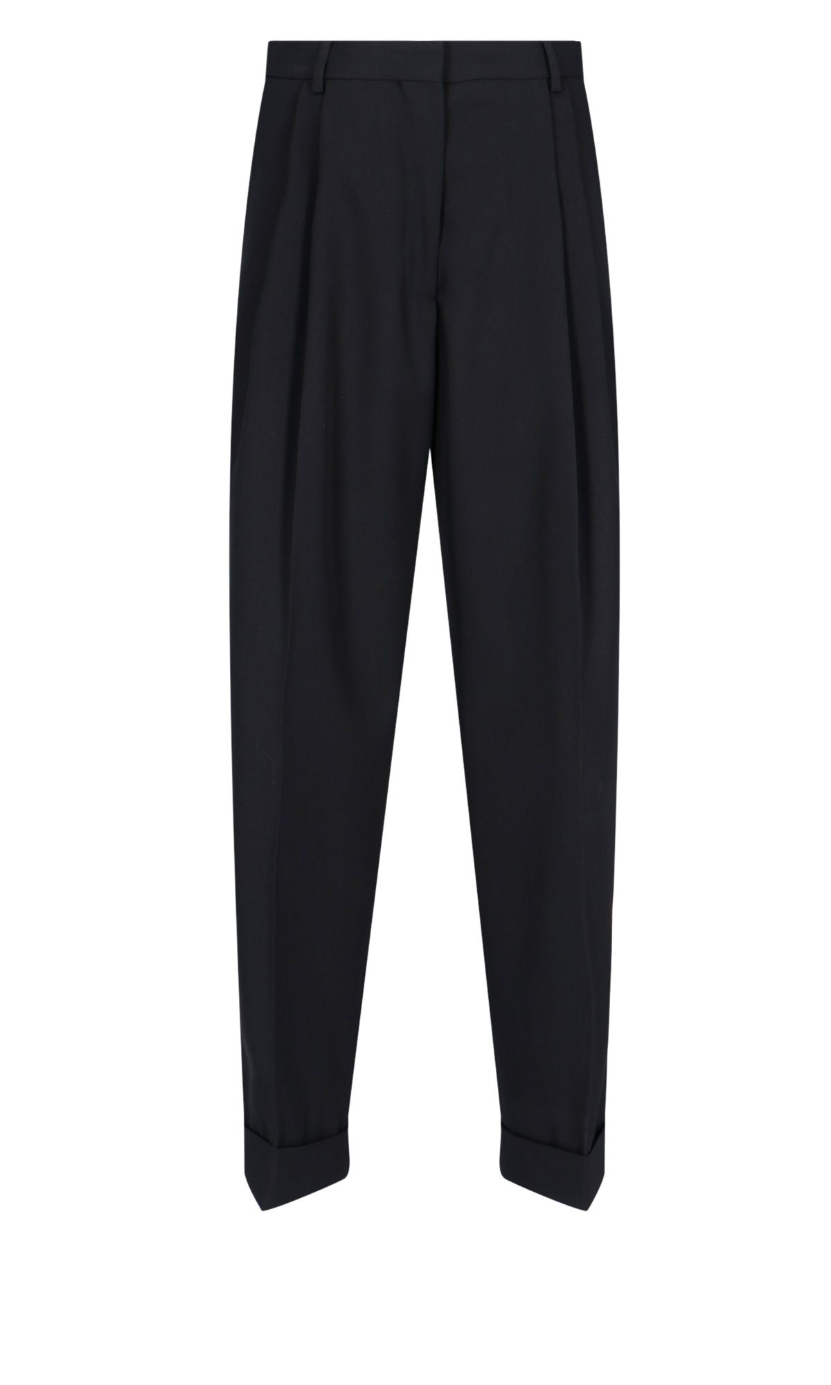 Dries Van Noten DRIES VAN NOTEN WOMEN'S BLACK POLYESTER PANTS