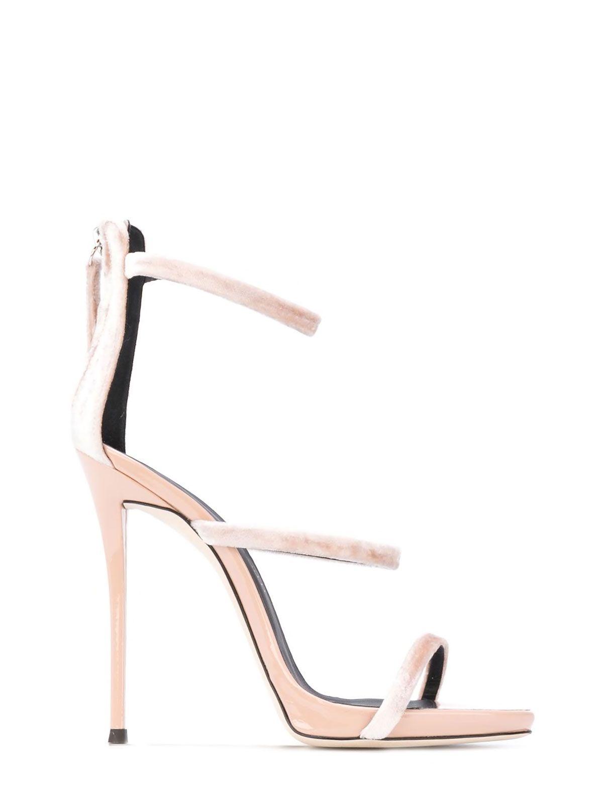 Giuseppe Zanotti Pink Leather Heels