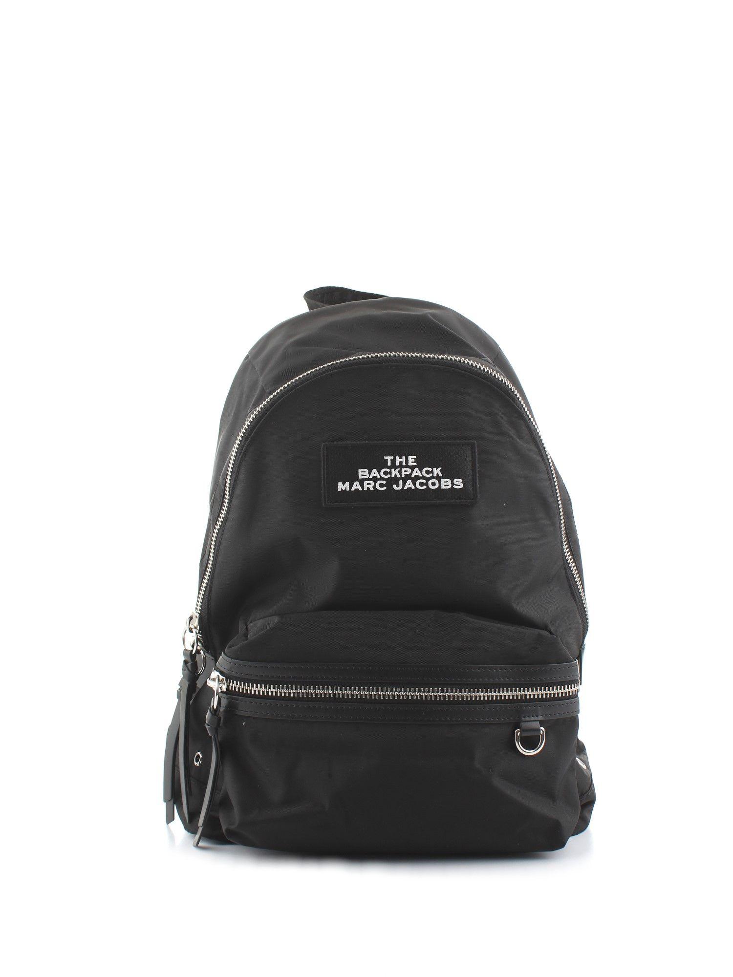 Marc Jacobs Backpacks BLACK POLYAMIDE BACKPACK