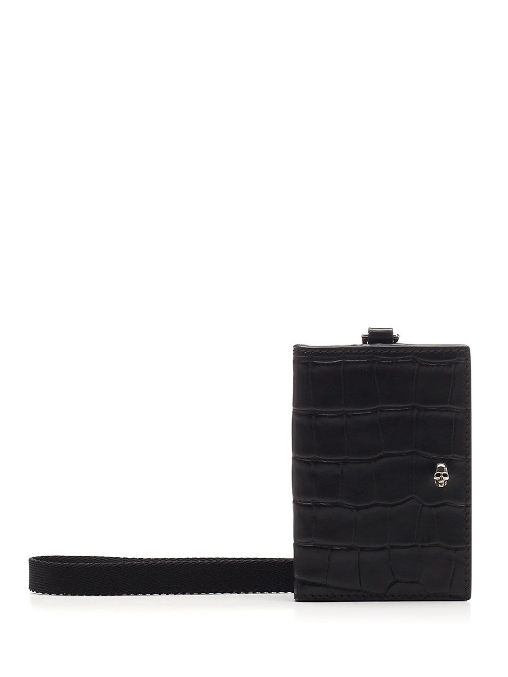 ALEXANDER MCQUEEN ALEXANDER MCQUEEN MEN'S BLACK OTHER MATERIALS WALLET