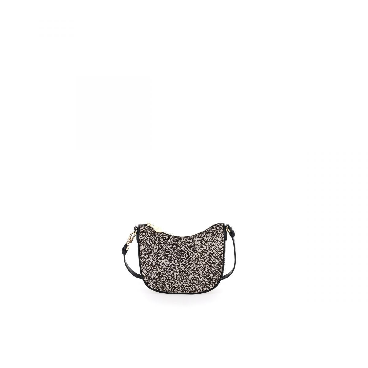 Borbonese BORBONESE WOMEN'S BROWN POLYESTER SHOULDER BAG