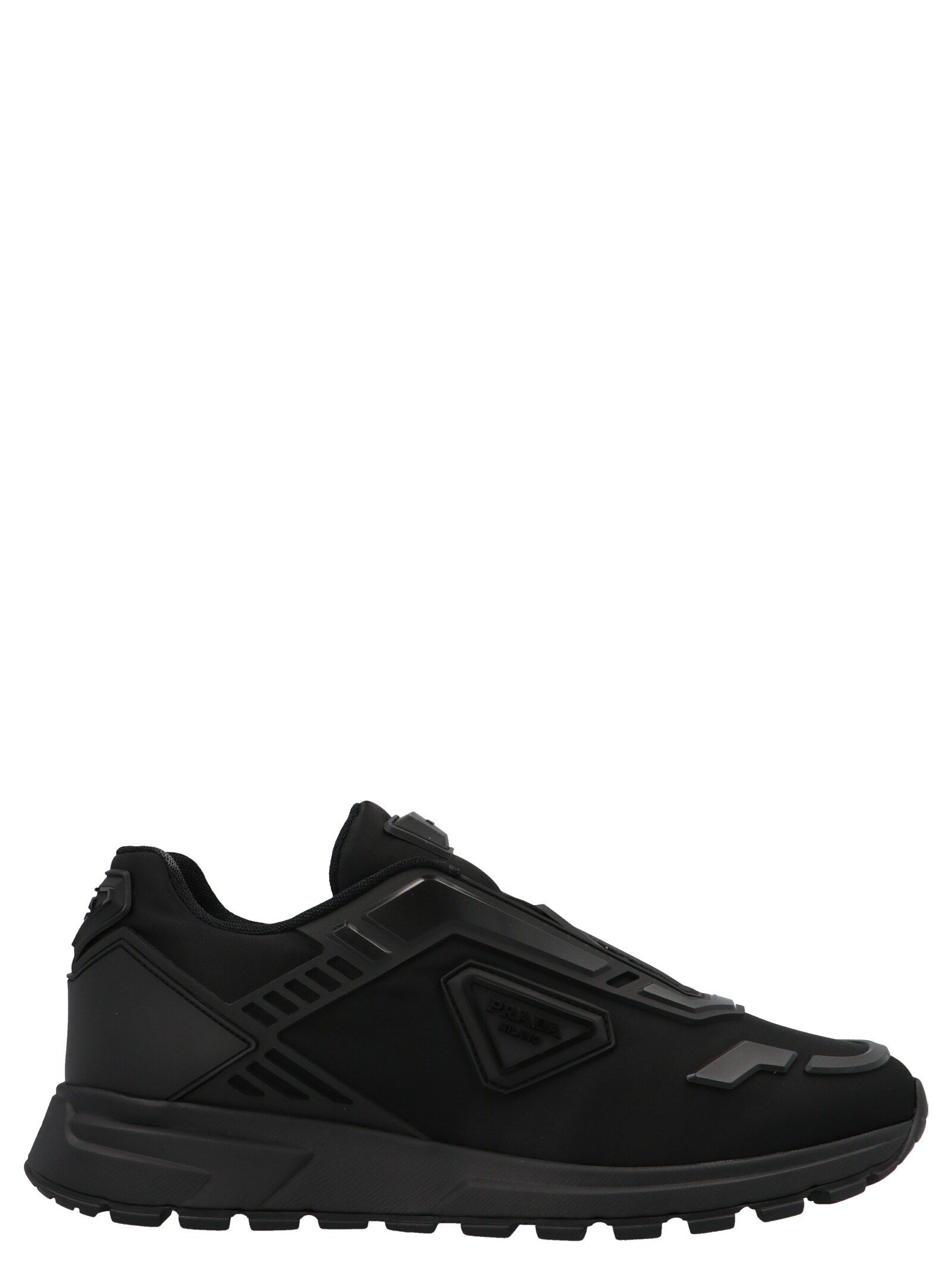 Prada PRADA MEN'S BLACK OTHER MATERIALS SNEAKERS