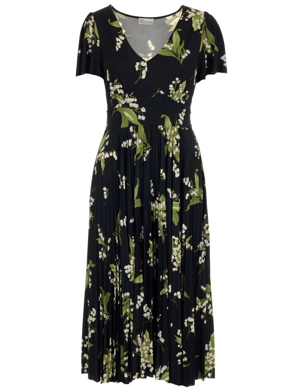Red Valentino Dresses RED VALENTINO WOMEN'S BLACK OTHER MATERIALS DRESS