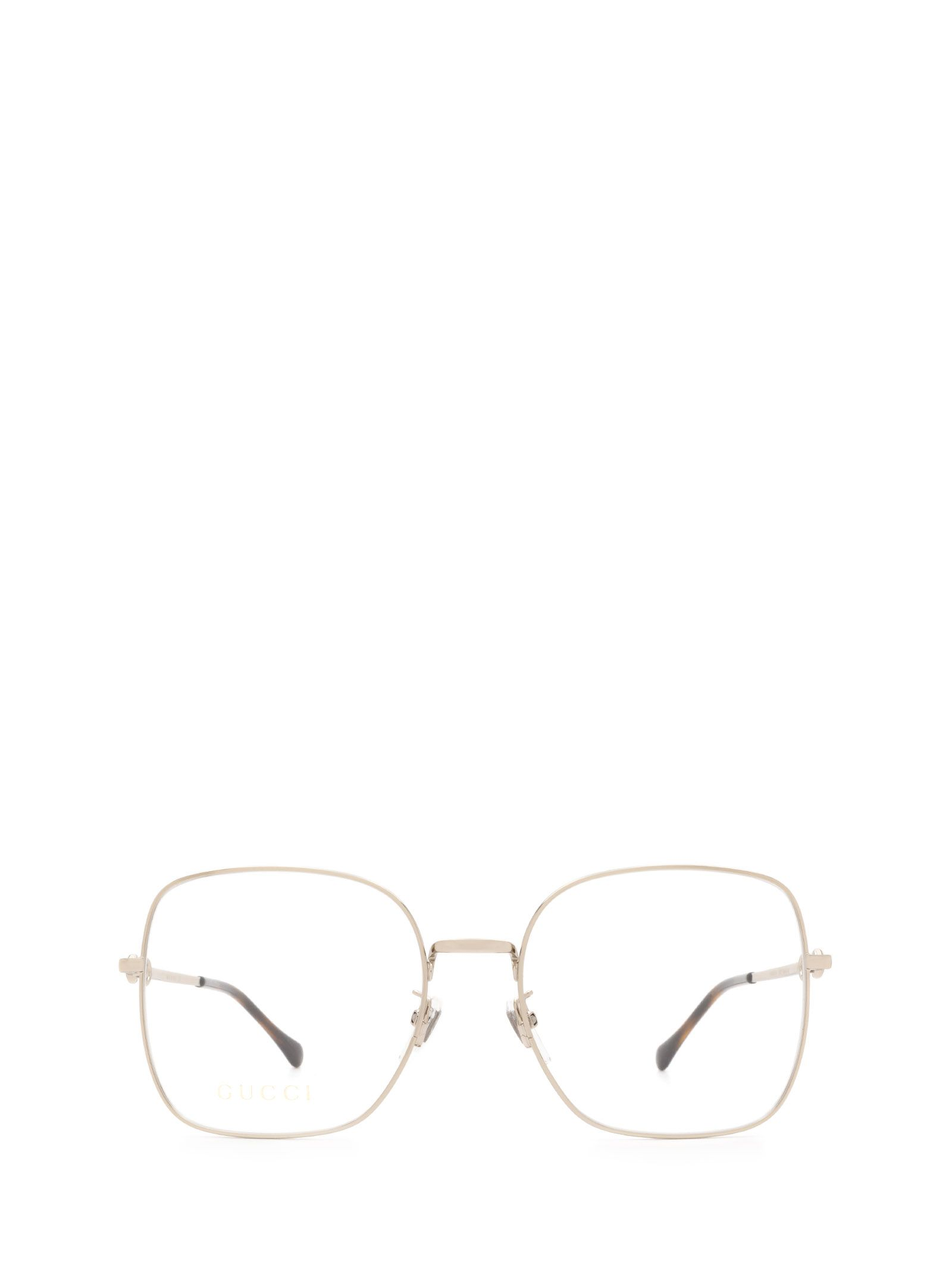 Gucci Women's Yellow Metal Glasses