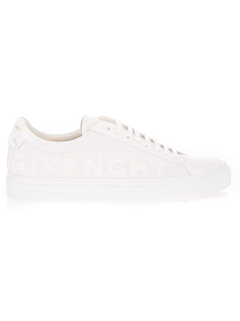 Givenchy Leathers GIVENCHY MEN'S WHITE OTHER MATERIALS SNEAKERS