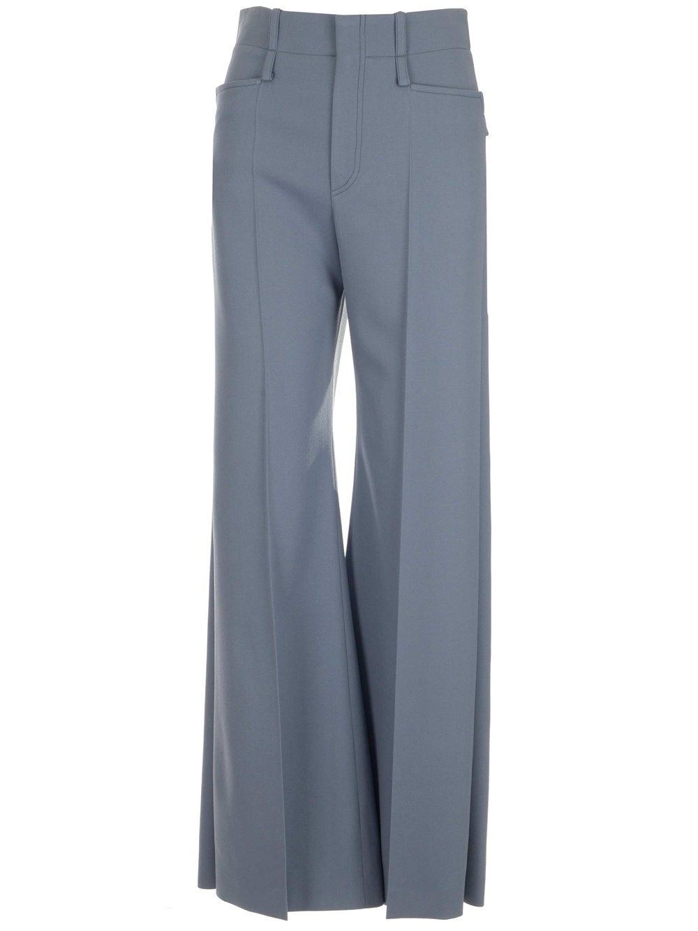 Chloé CHLOÉ WOMEN'S LIGHT BLUE OTHER MATERIALS PANTS