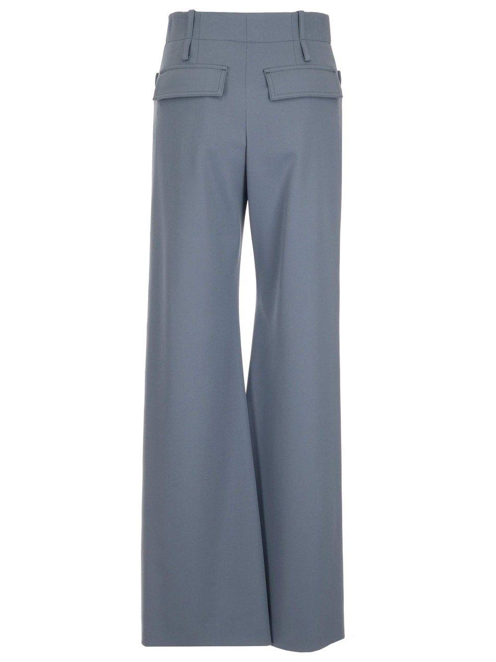 CHLOÉ Pants CHLOÉ WOMEN'S LIGHT BLUE OTHER MATERIALS PANTS