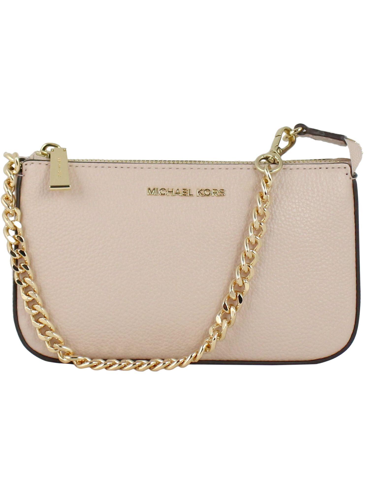 Michael Kors Women's Pink Leather Shoulder Bag