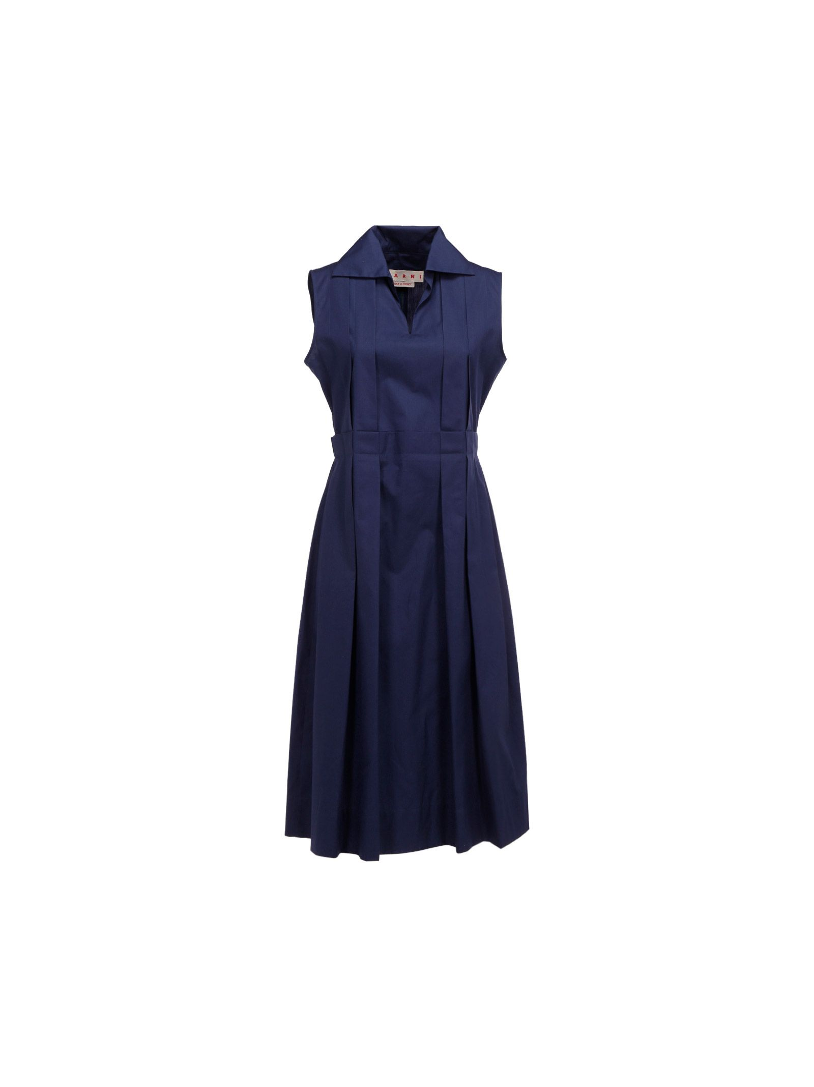 Marni MARNI WOMEN'S BLUE OTHER MATERIALS DRESS