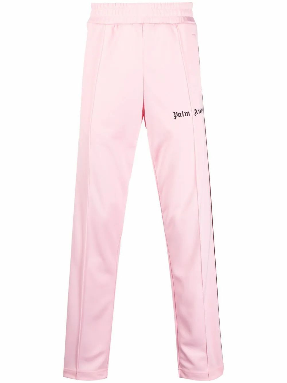 Palm Angels Track pants PALM ANGELS MEN'S PINK POLYESTER JOGGERS