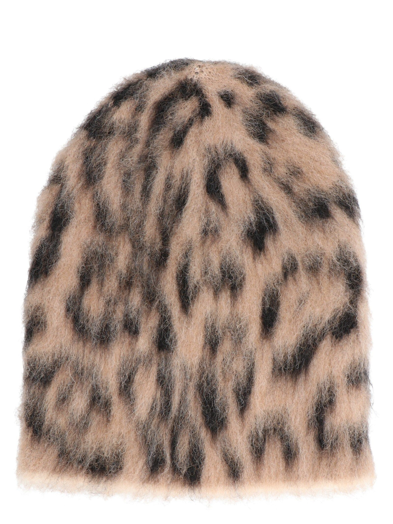 Laneus BROWN WOOL HAT