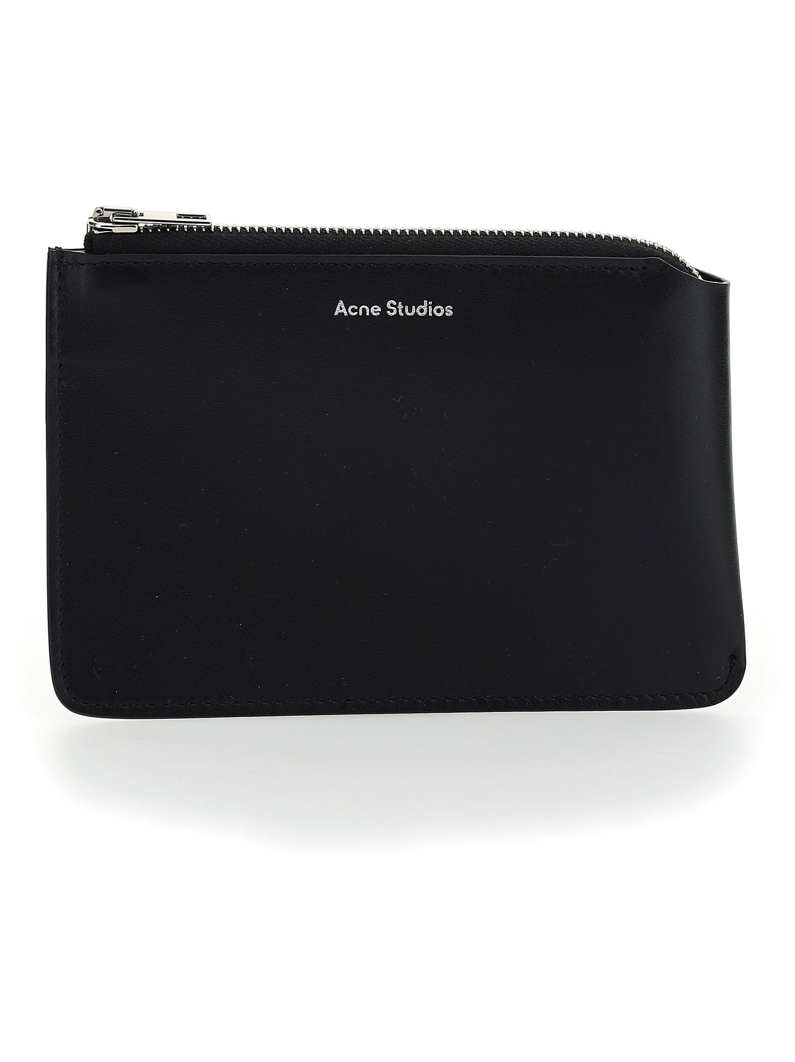 Acne Studios ACNE STUDIOS MEN'S BLACK LEATHER WALLET