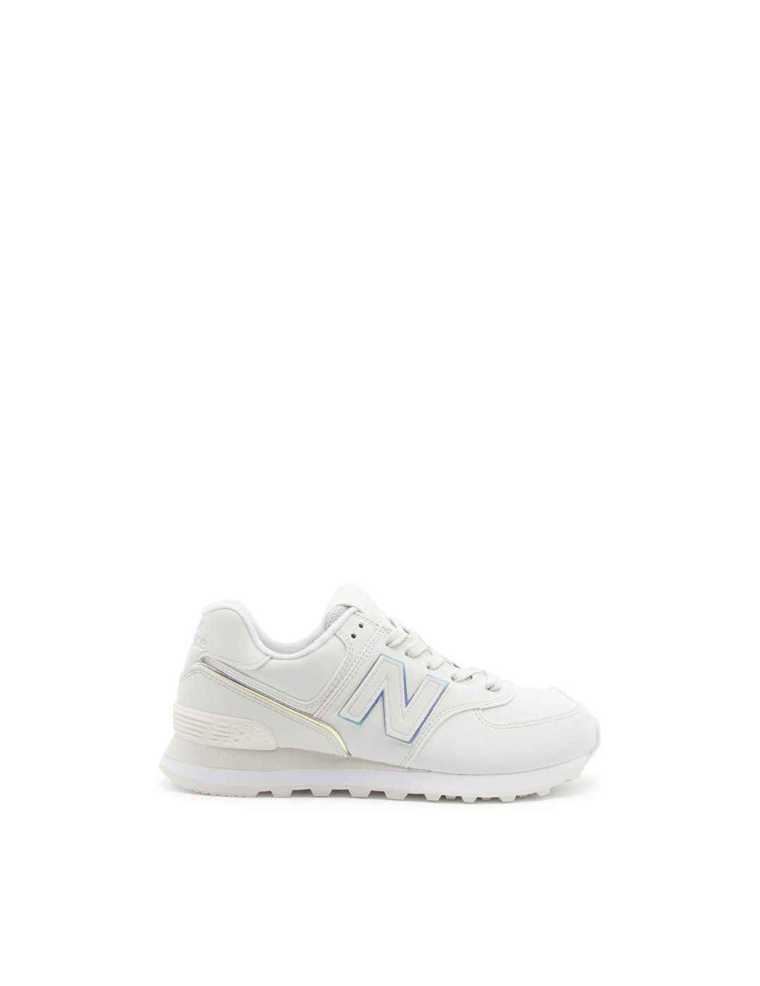 New Balance NEW BALANCE WOMEN'S WHITE LEATHER SNEAKERS