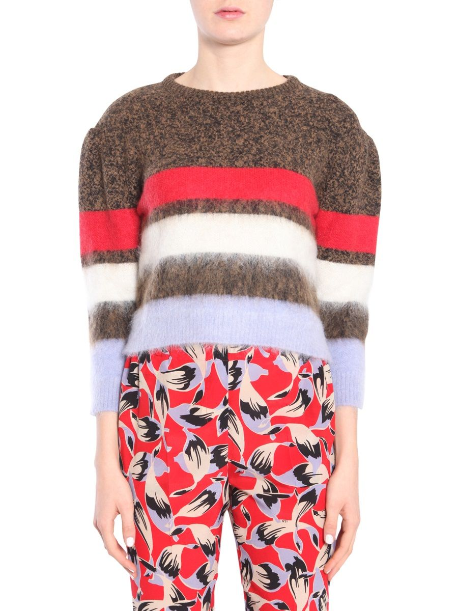 N°21 MULTICOLOR WOOL SWEATER,A04071600102