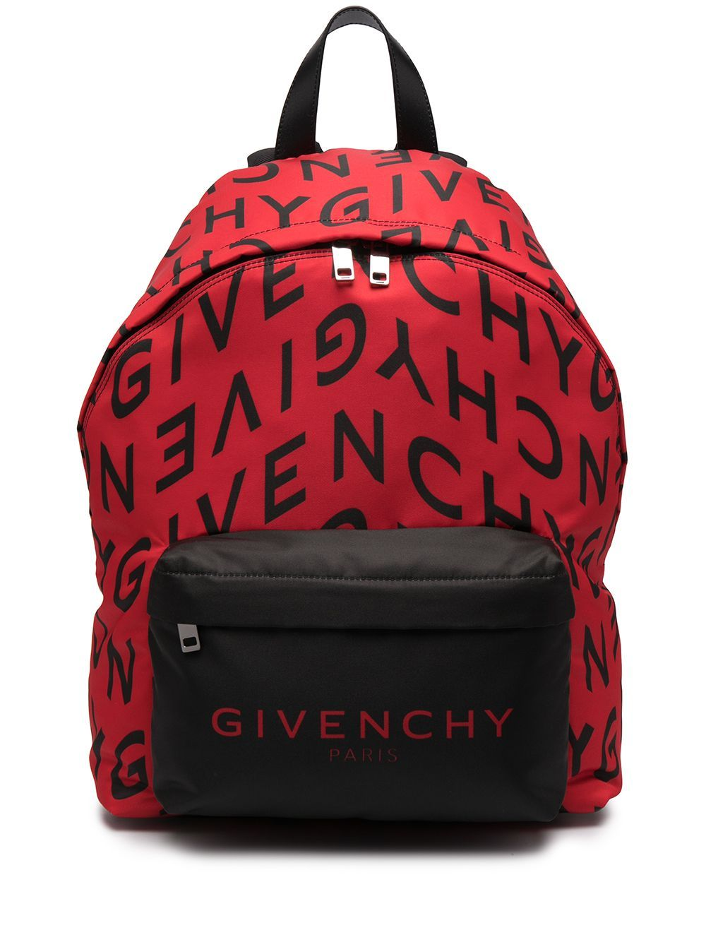 Givenchy GIVENCHY MEN'S RED POLYESTER BACKPACK