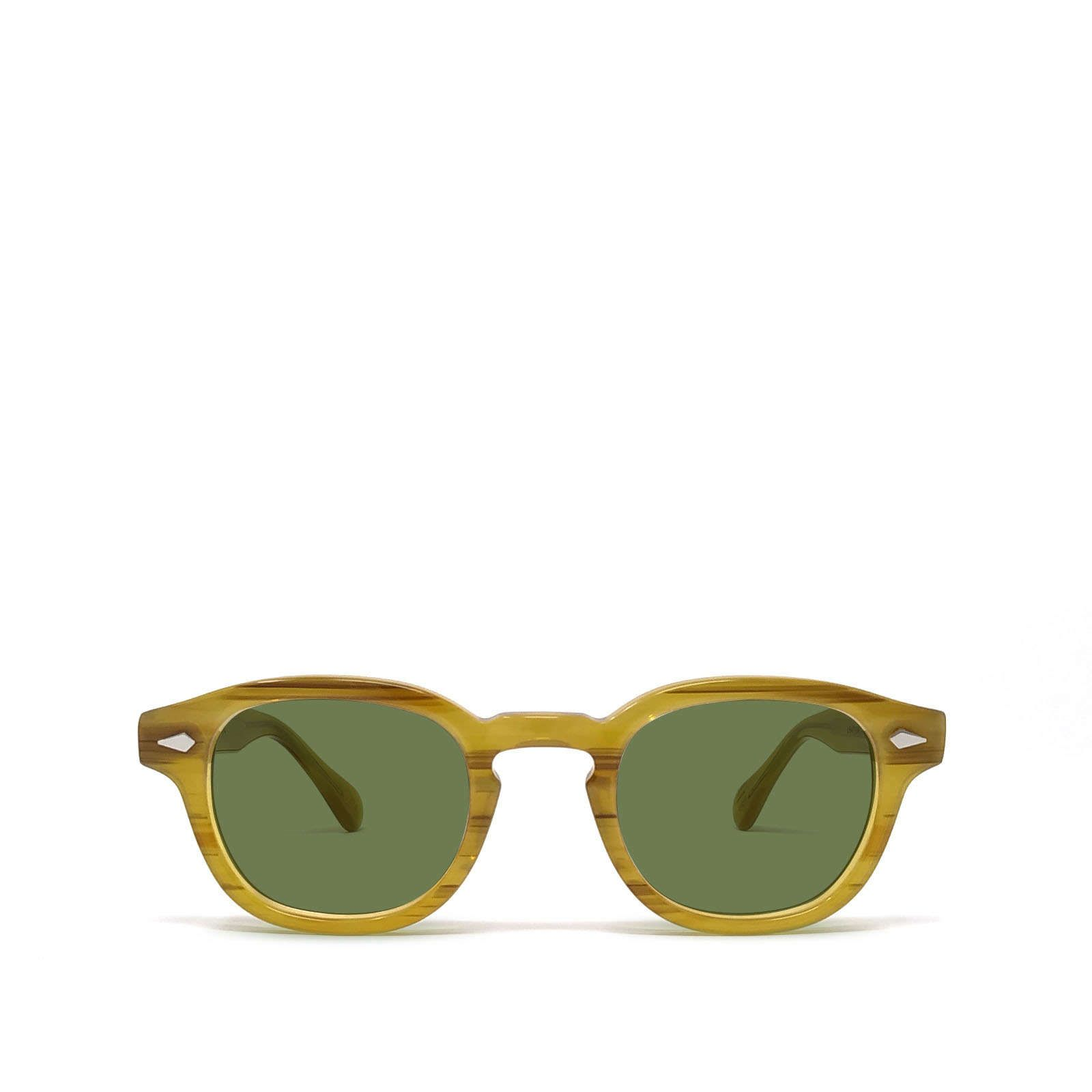Moscot MOSCOT WOMEN'S BROWN METAL SUNGLASSES