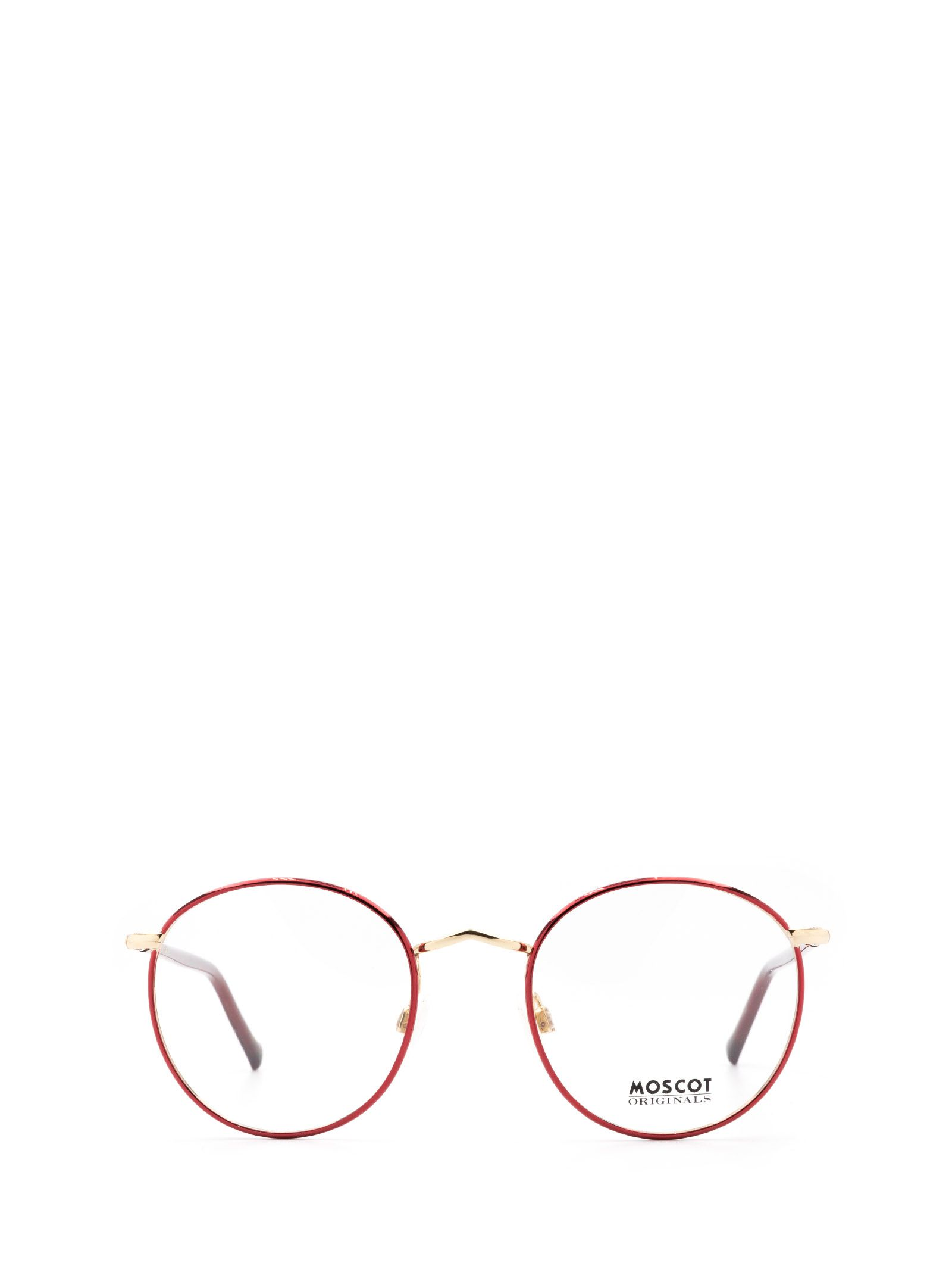 Moscot MOSCOT WOMEN'S RED METAL GLASSES