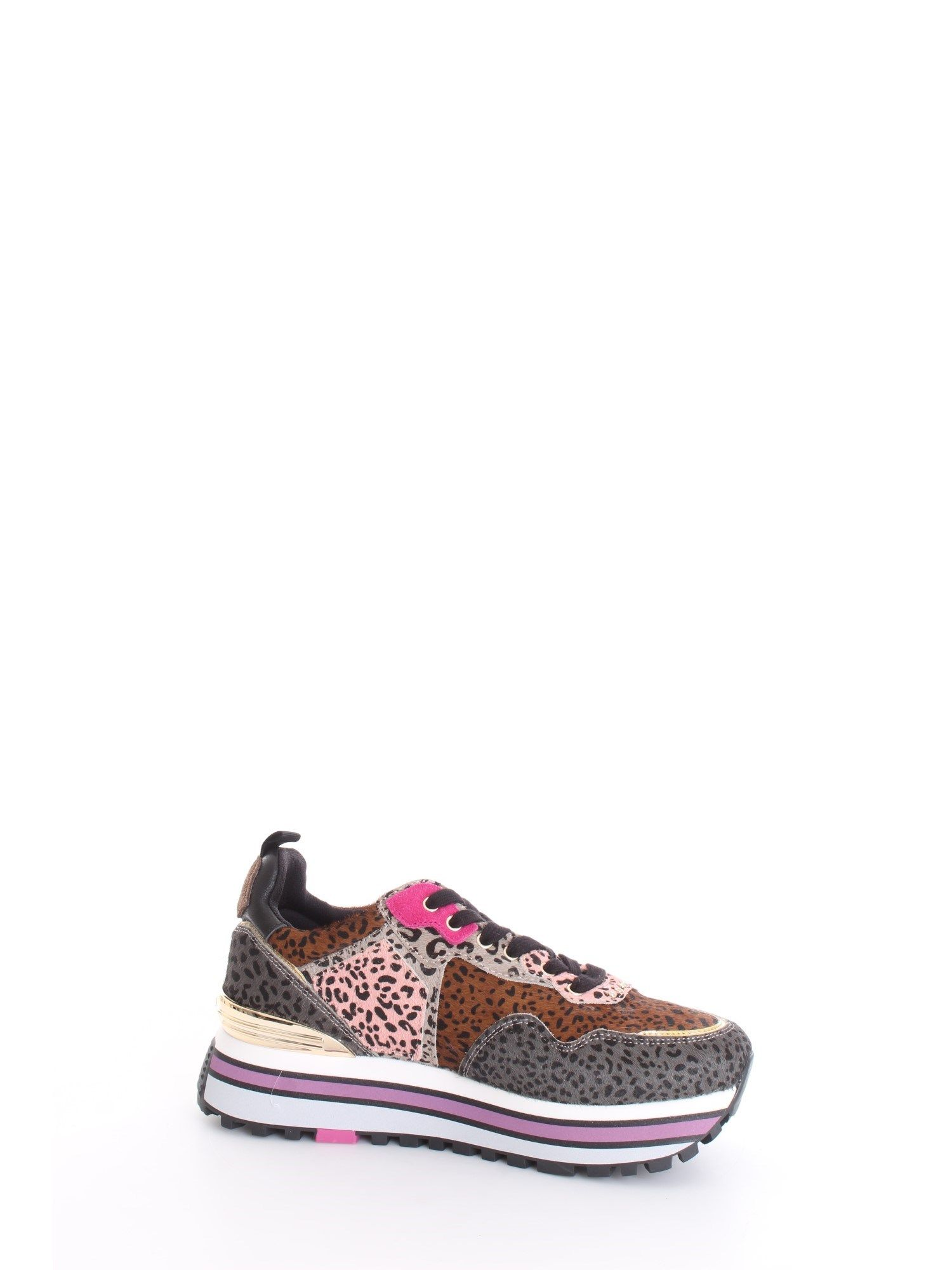 Liu •jo LIU JO WOMEN'S BROWN SNEAKERS