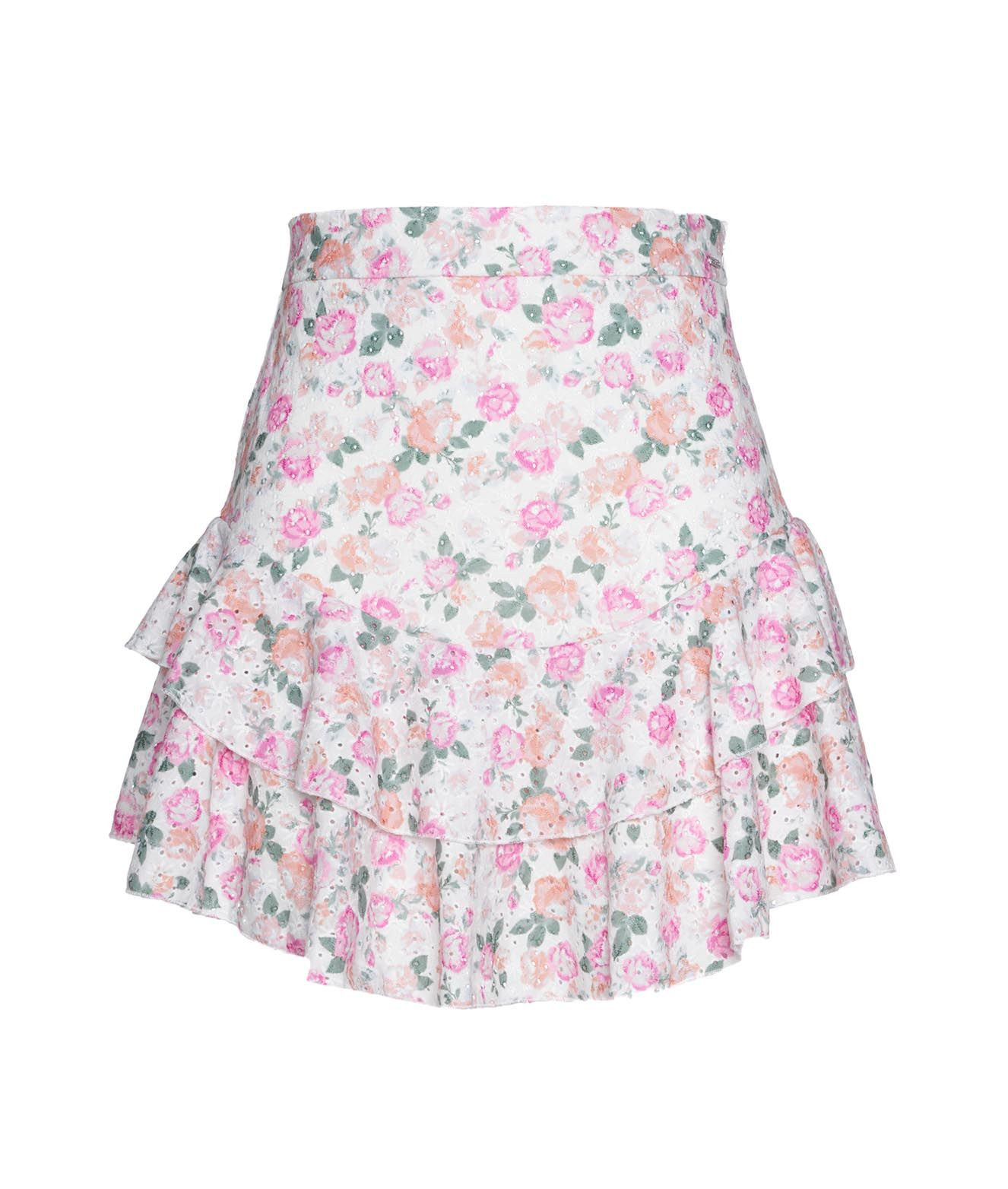 Guess Skirts GUESS WOMEN'S MULTICOLOR OTHER MATERIALS SKIRT