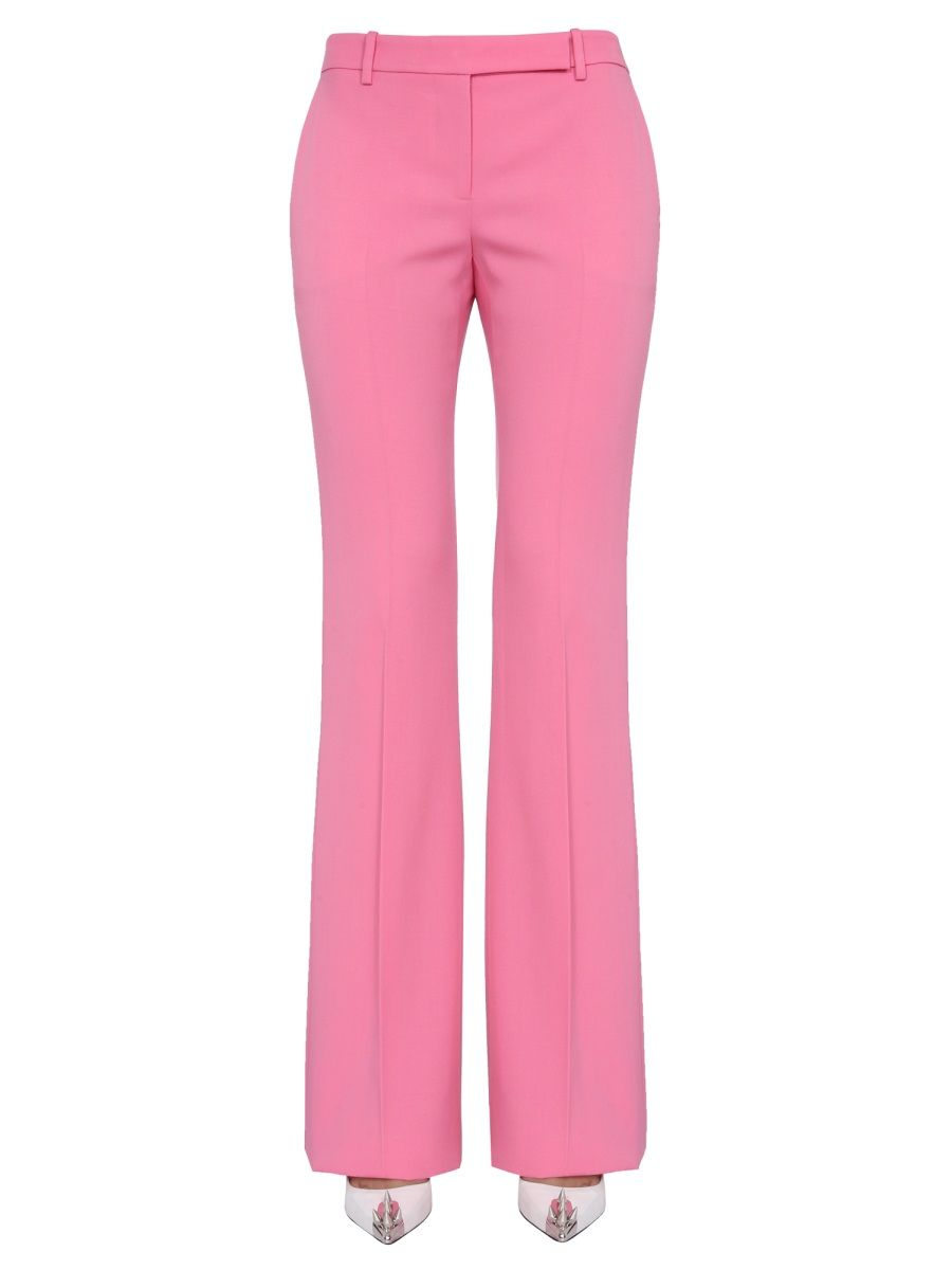 Alexander Mcqueen ALEXANDER MCQUEEN WOMEN'S PINK OTHER MATERIALS PANTS