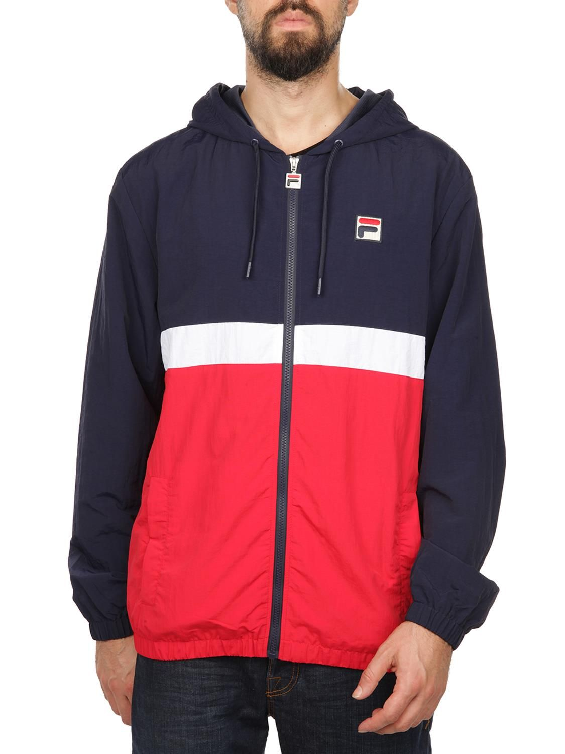 Fila Men's Blue Polyamide Sweatshirt