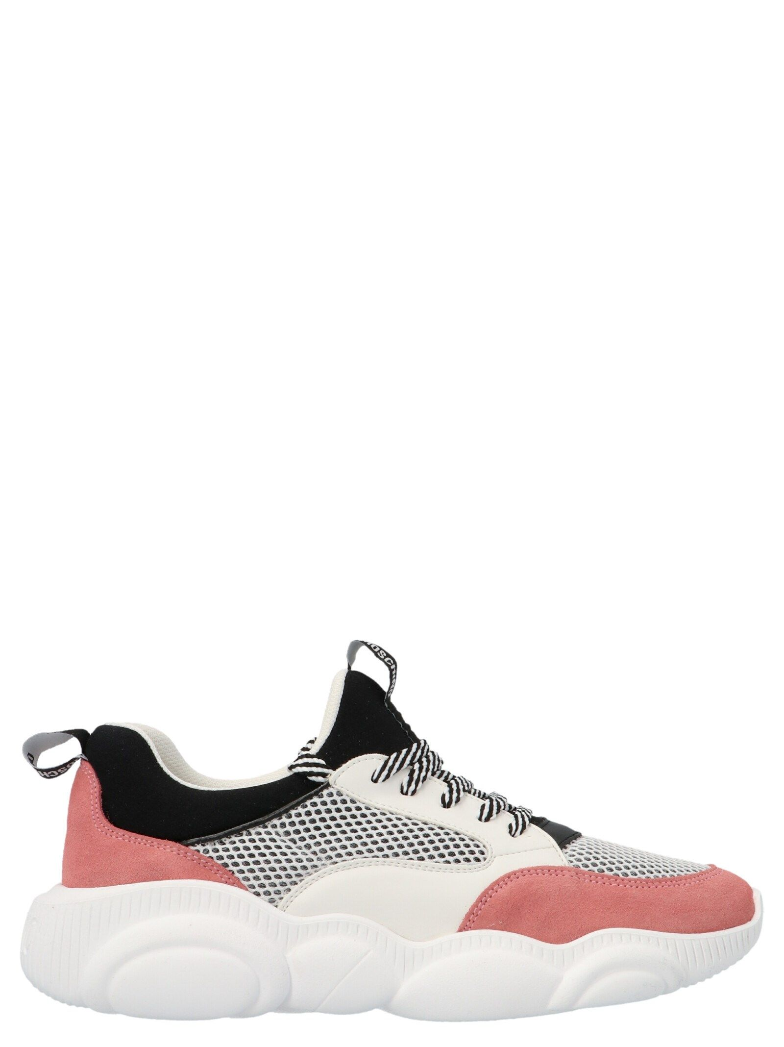 Moschino Leathers MOSCHINO WOMEN'S MULTICOLOR OTHER MATERIALS SNEAKERS