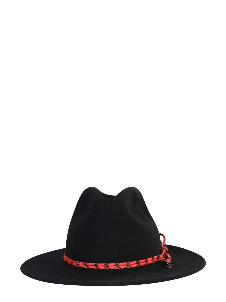 Paul Smith PAUL SMITH WOMEN'S BLACK WOOL HAT