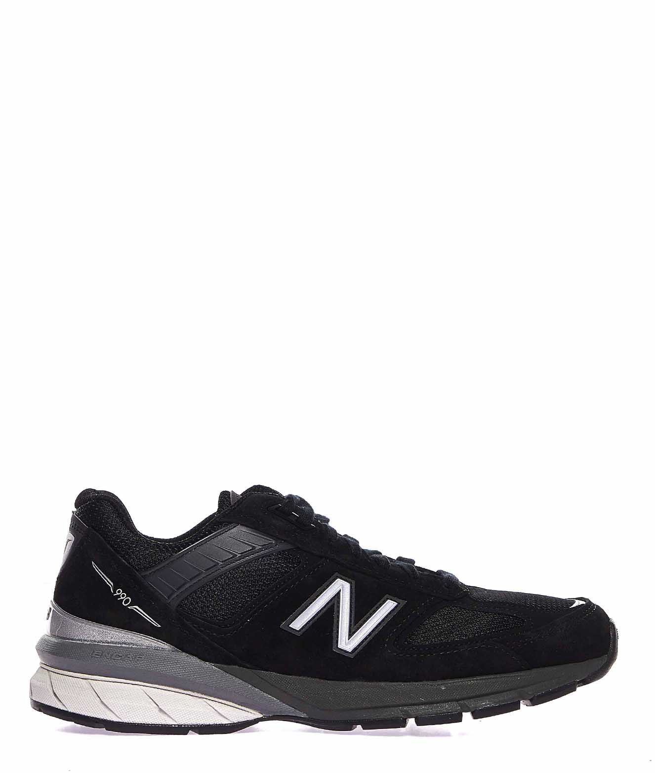 New Balance BLACK SUEDE SNEAKERS