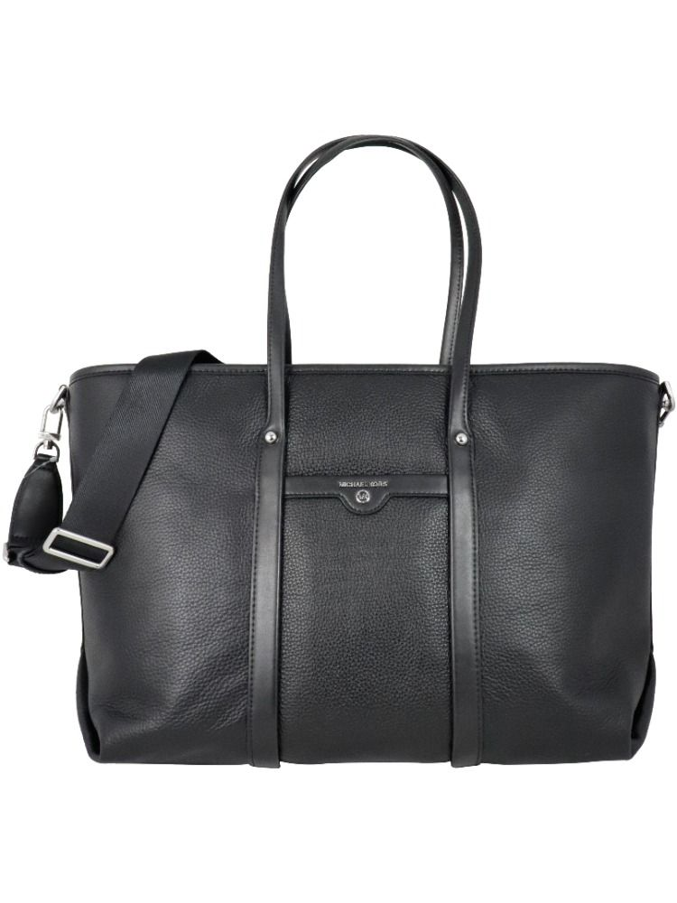 Michael Kors MICHAEL KORS WOMEN'S BLACK LEATHER TOTE