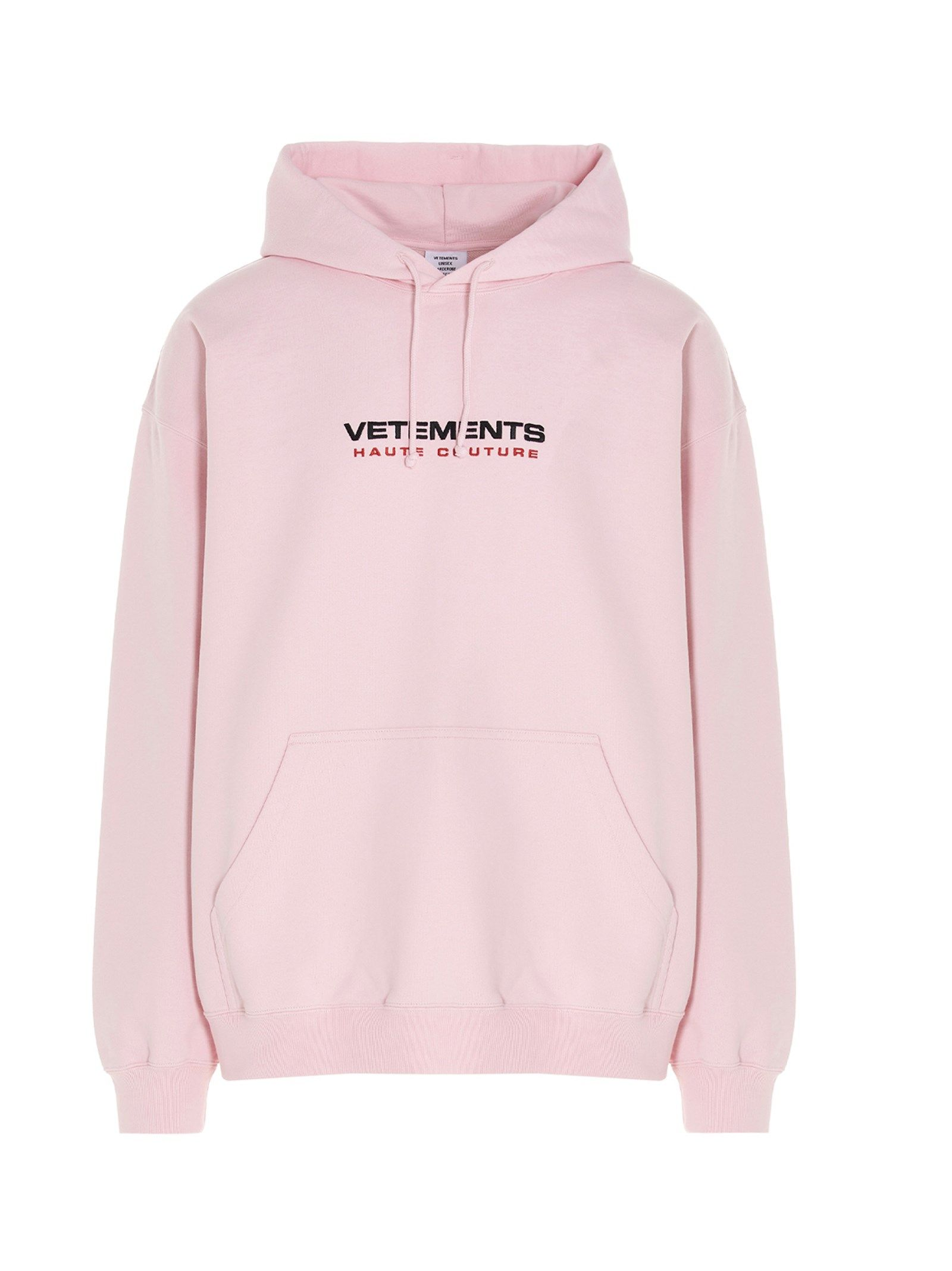Vetements VETEMENTS MEN'S PINK COTTON SWEATSHIRT