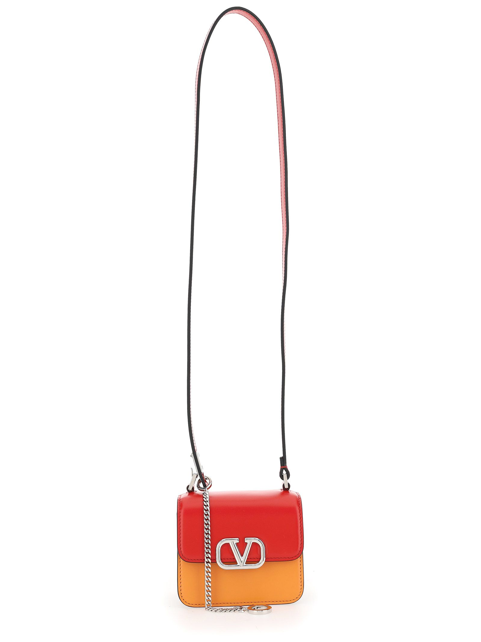 Valentino VALENTINO GARAVANI WOMEN'S RED OTHER MATERIALS SHOULDER BAG