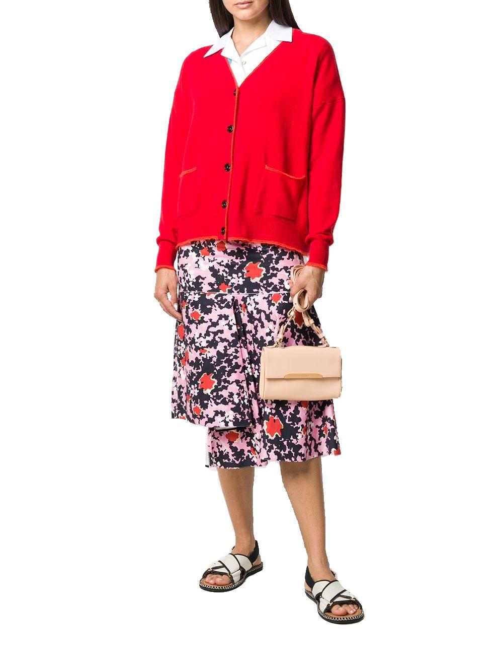 MARNI Leathers MARNI WOMEN'S BEIGE LEATHER SHOULDER BAG