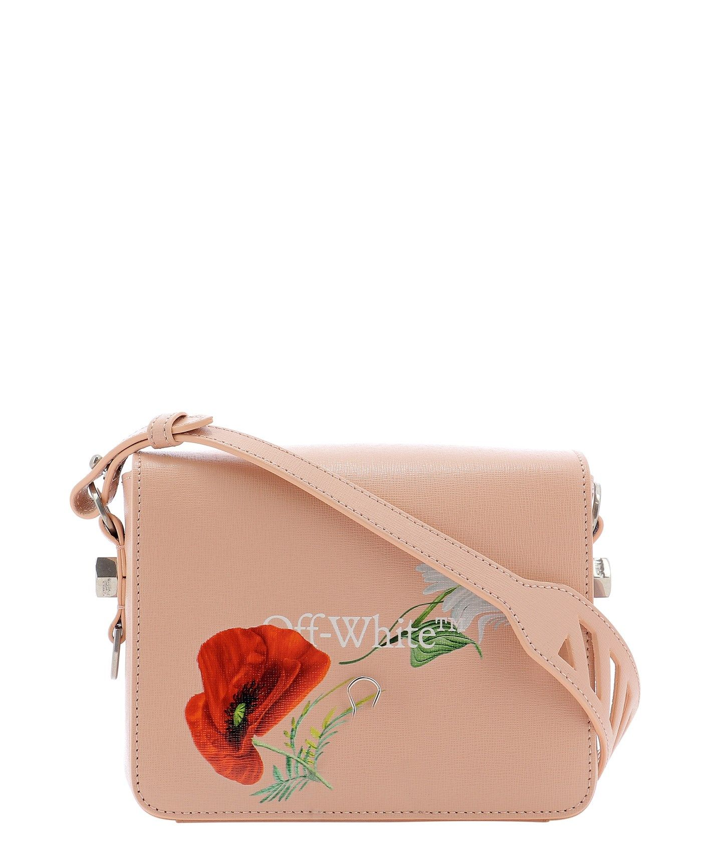 Off-White OFF-WHITE WOMEN'S PINK OTHER MATERIALS SHOULDER BAG