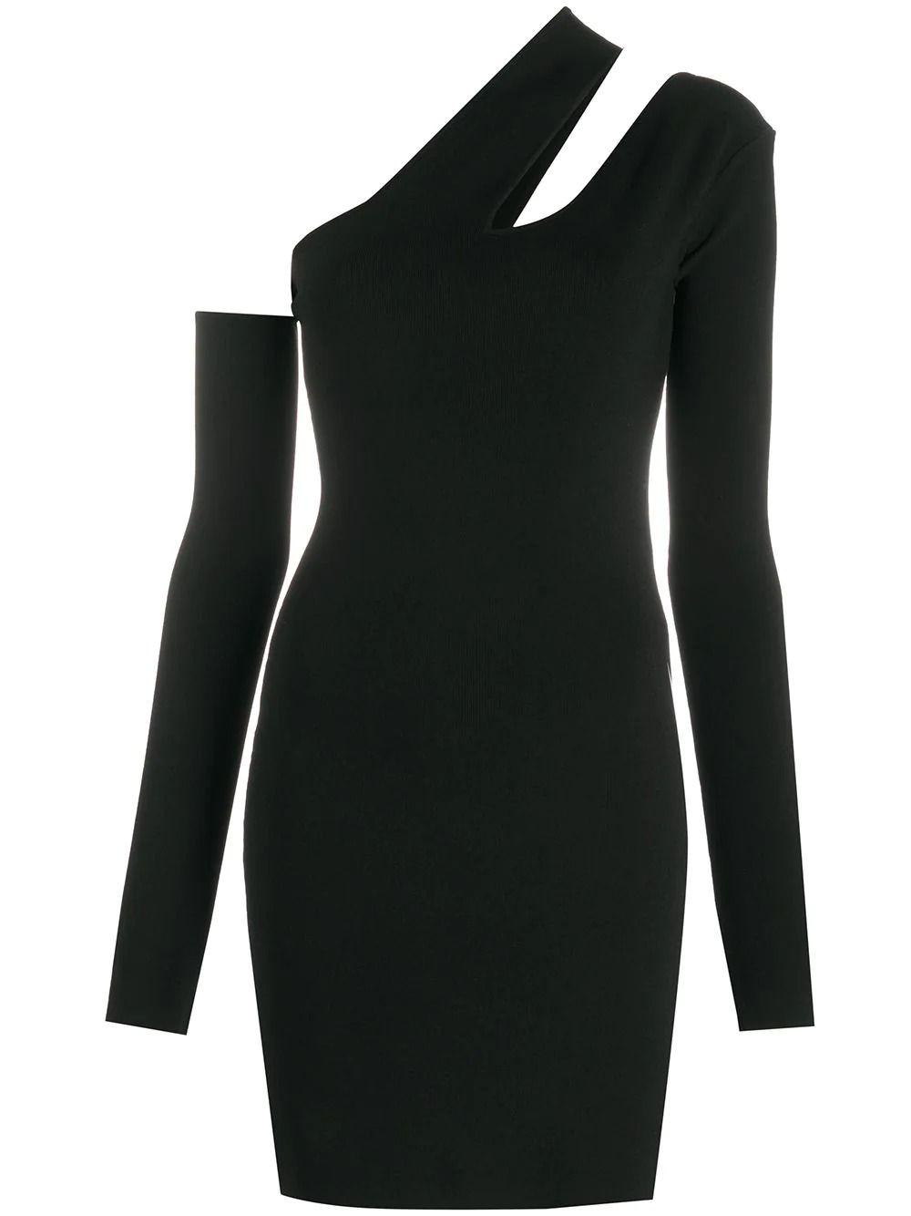 Nanushka NANUSHKA WOMEN'S BLACK VISCOSE DRESS