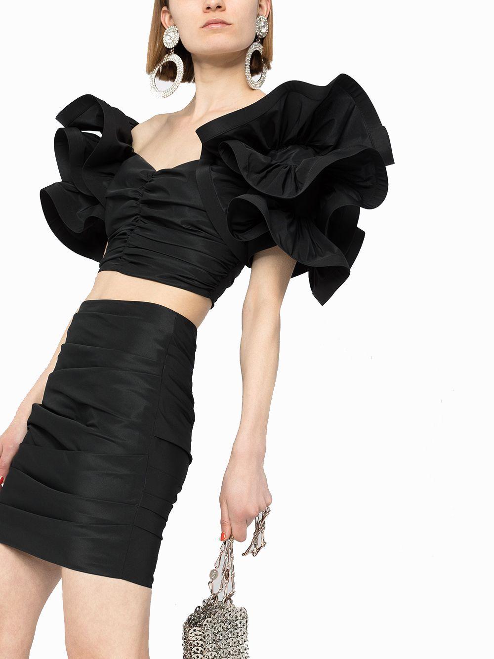 ELISABETTA FRANCHI Dresses ELISABETTA FRANCHI WOMEN'S BLACK POLYESTER DRESS