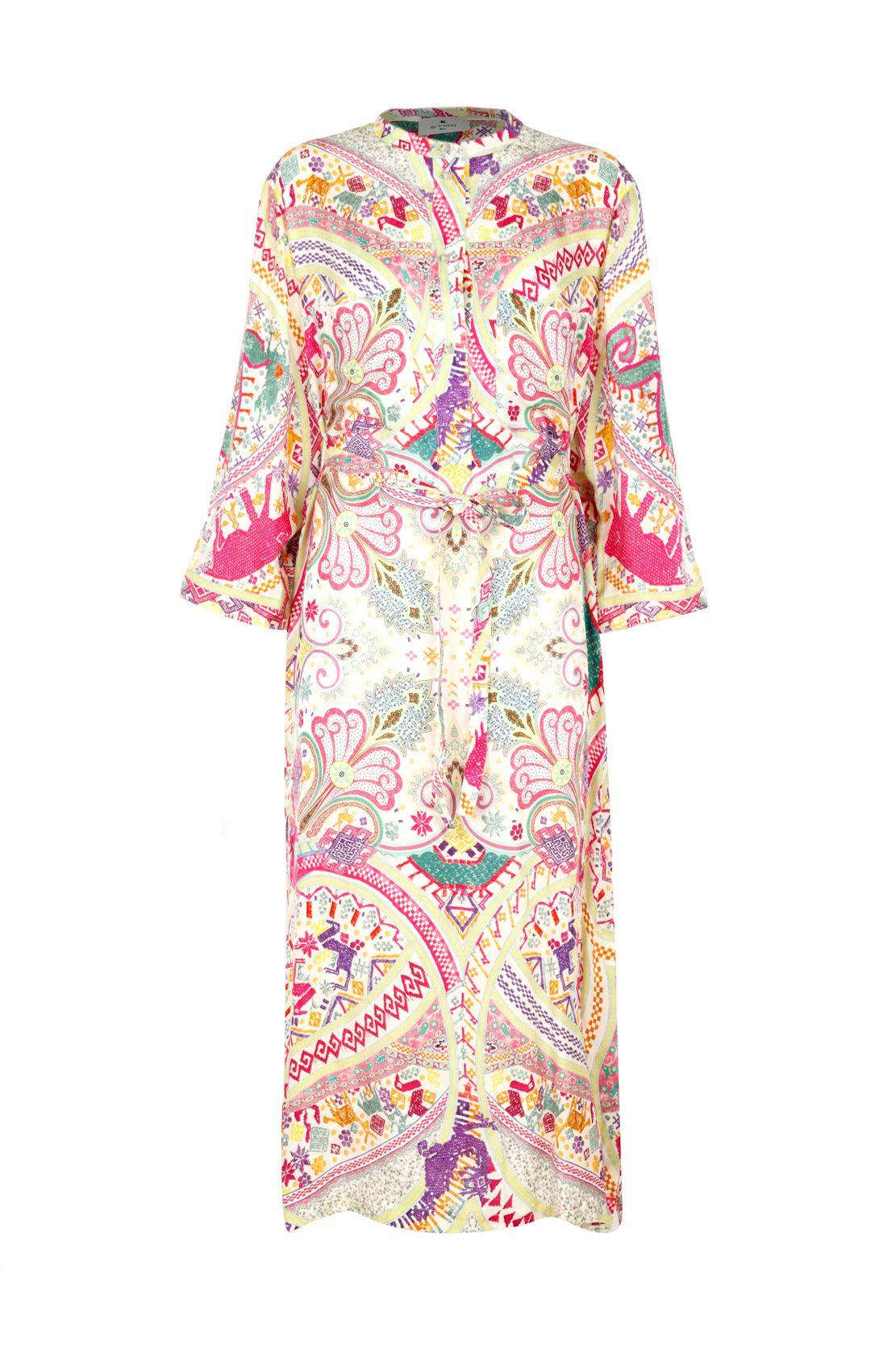 Etro ETRO WOMEN'S MULTICOLOR VISCOSE DRESS