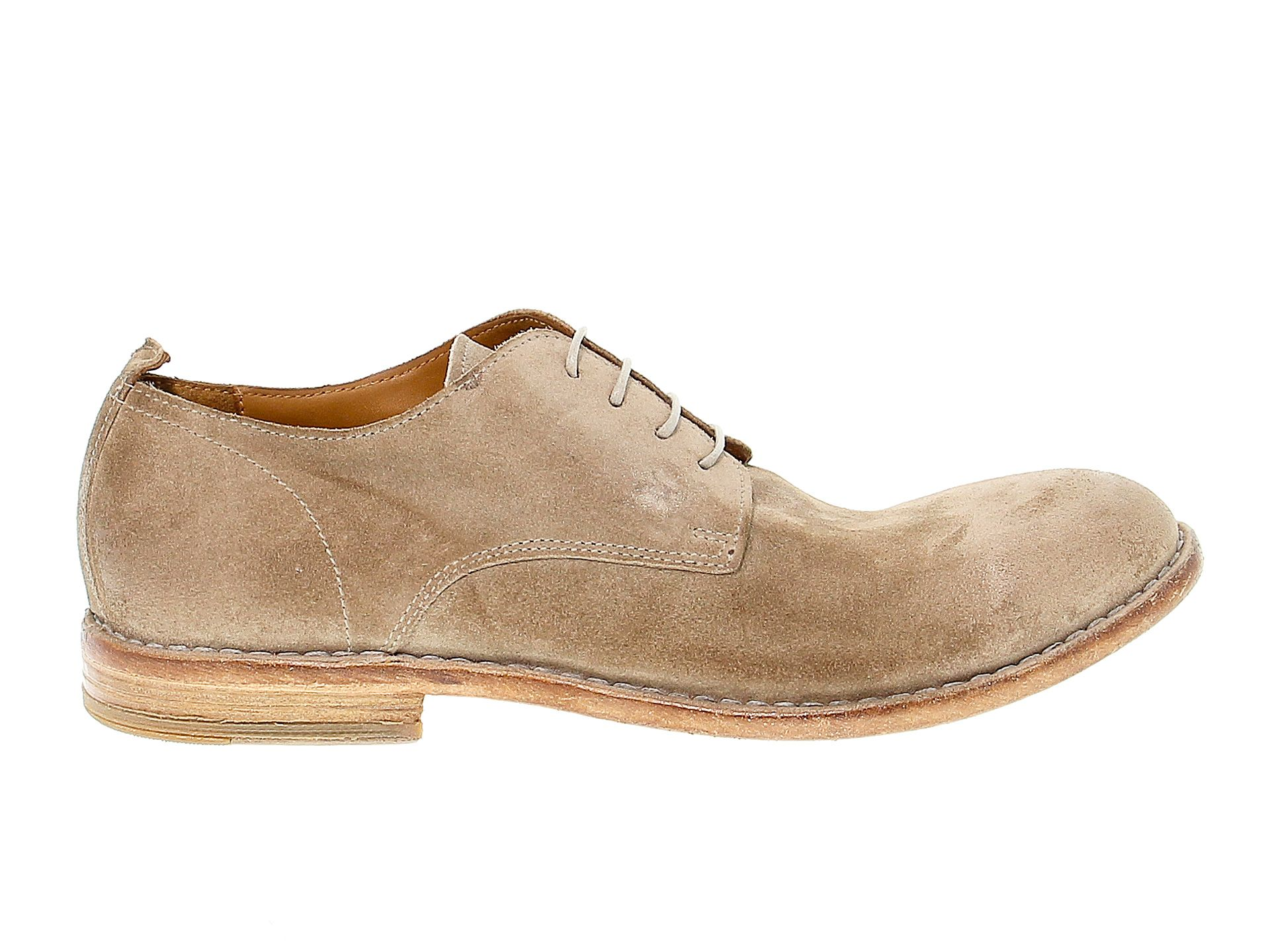 Moma Men's Brown Other Materials Lace-up Shoes