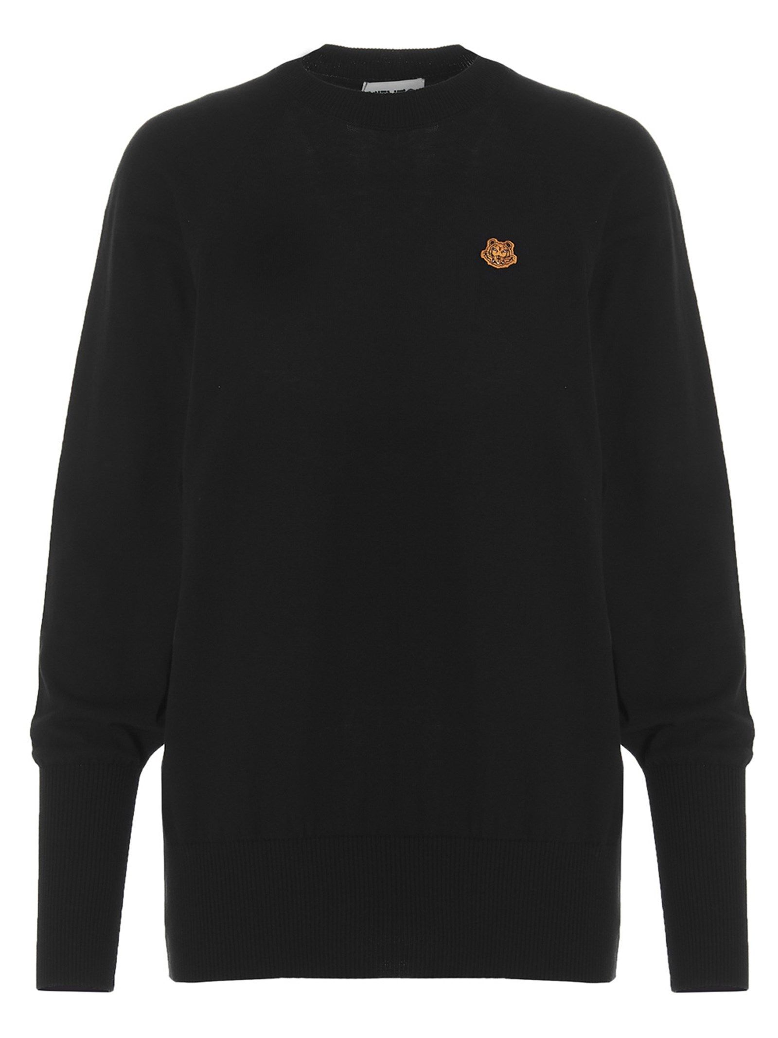 Kenzo KENZO WOMEN'S BLACK COTTON SWEATER