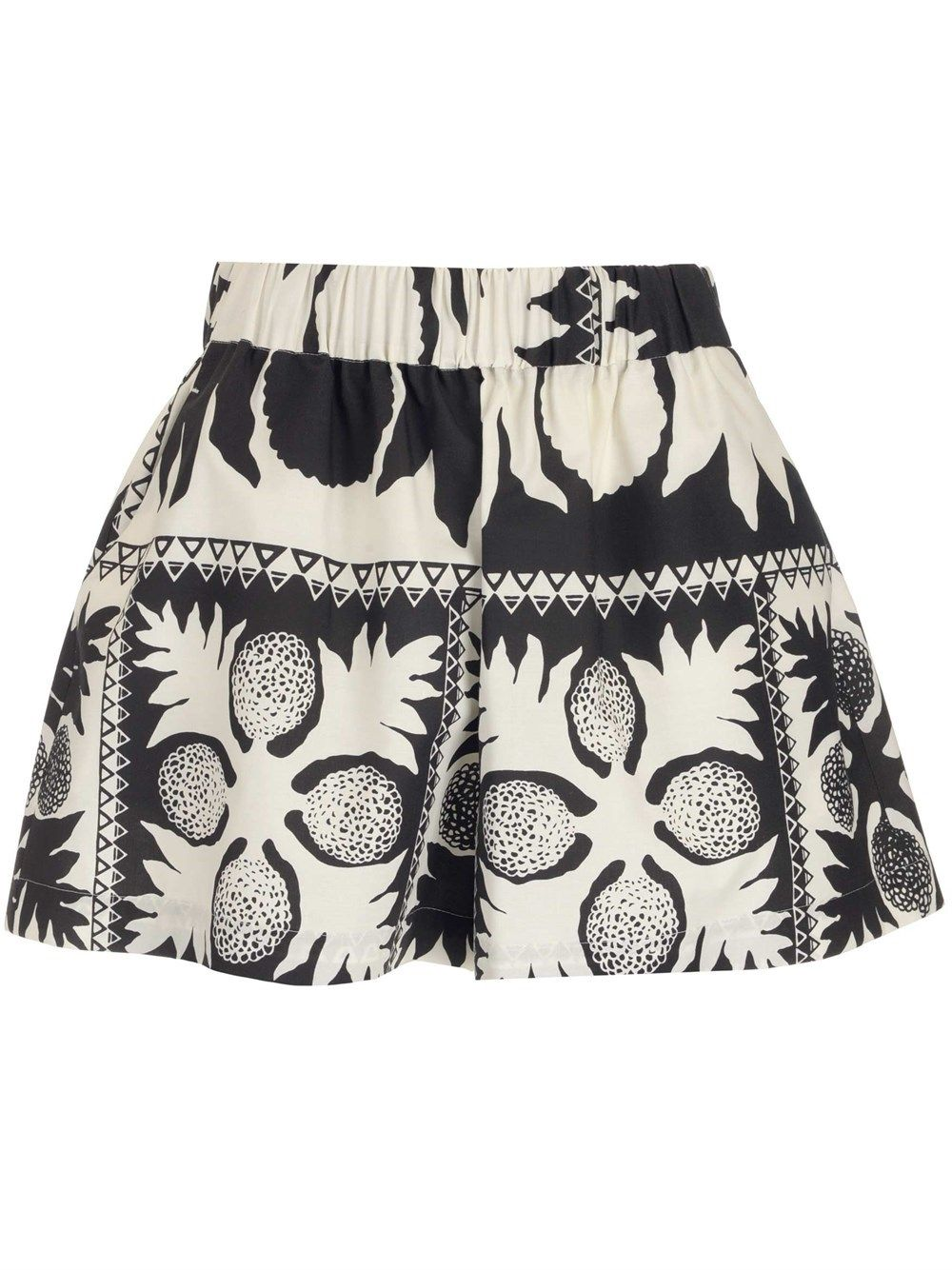 Red Valentino Shorts RED VALENTINO WOMEN'S BLACK OTHER MATERIALS SHORTS