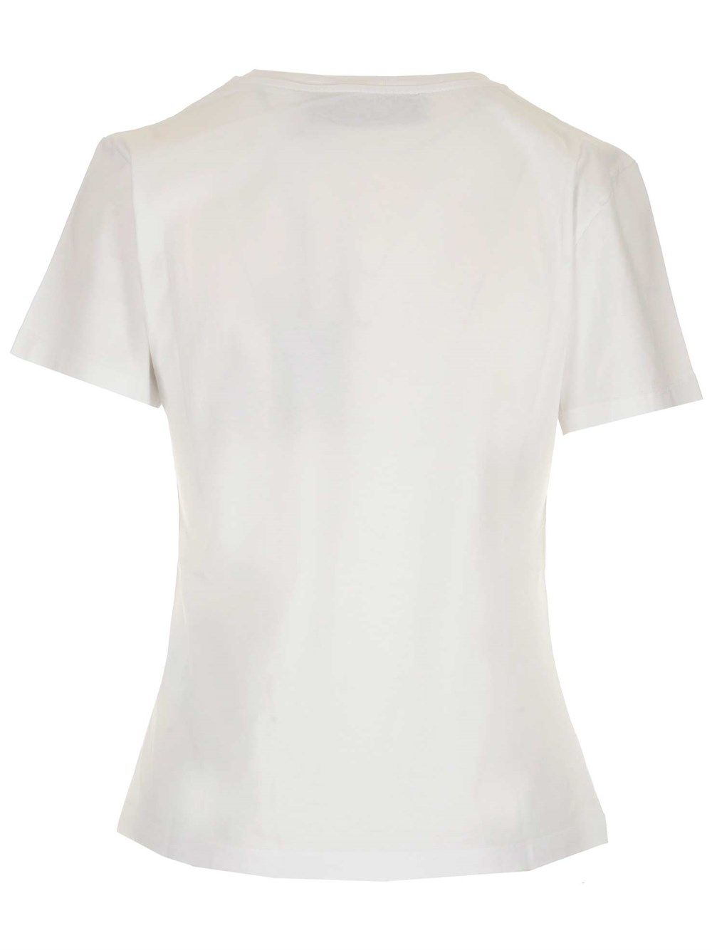GOLDEN GOOSE Cottons GOLDEN GOOSE WOMEN'S WHITE OTHER MATERIALS T-SHIRT