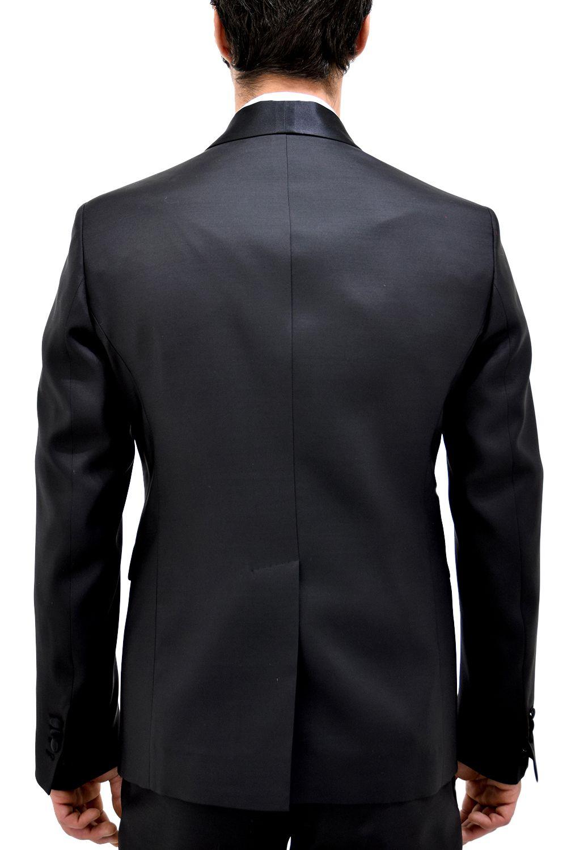 Dsquared2 Black Wool Suit
