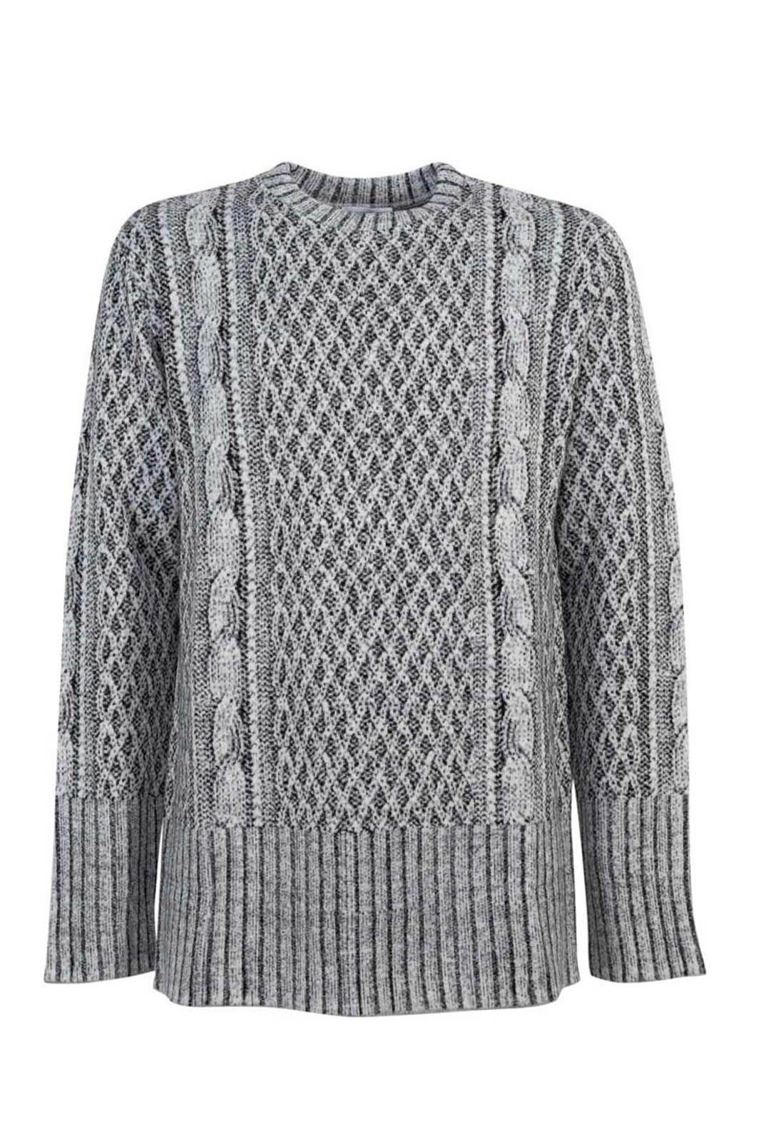 Ih Nom Uh Nit Grey Sweater