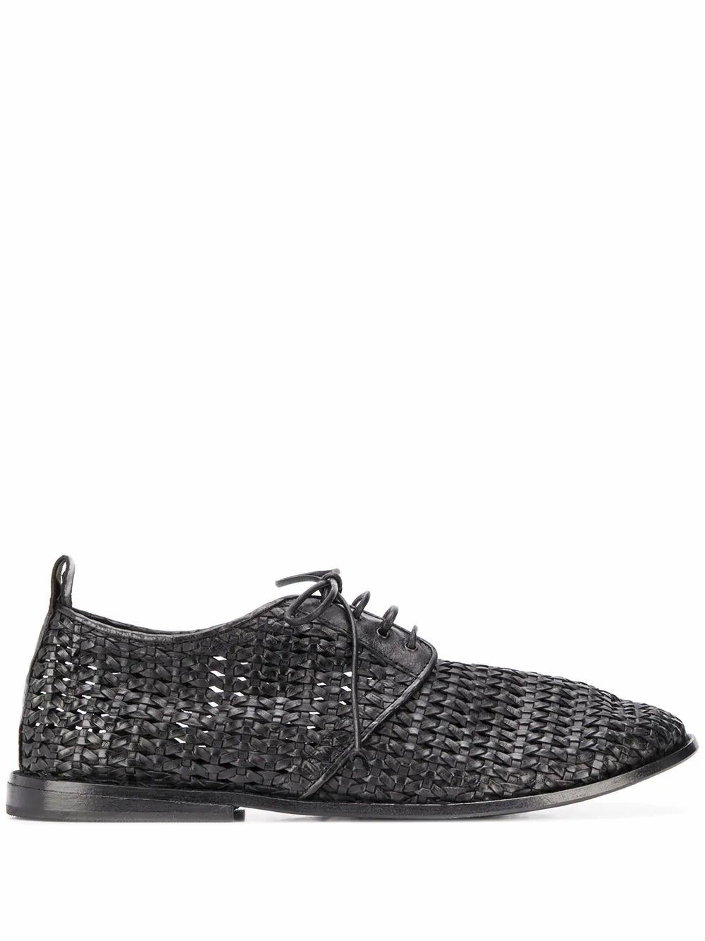 Marsèll MARSELL MEN'S BLACK LEATHER LACE-UP SHOES