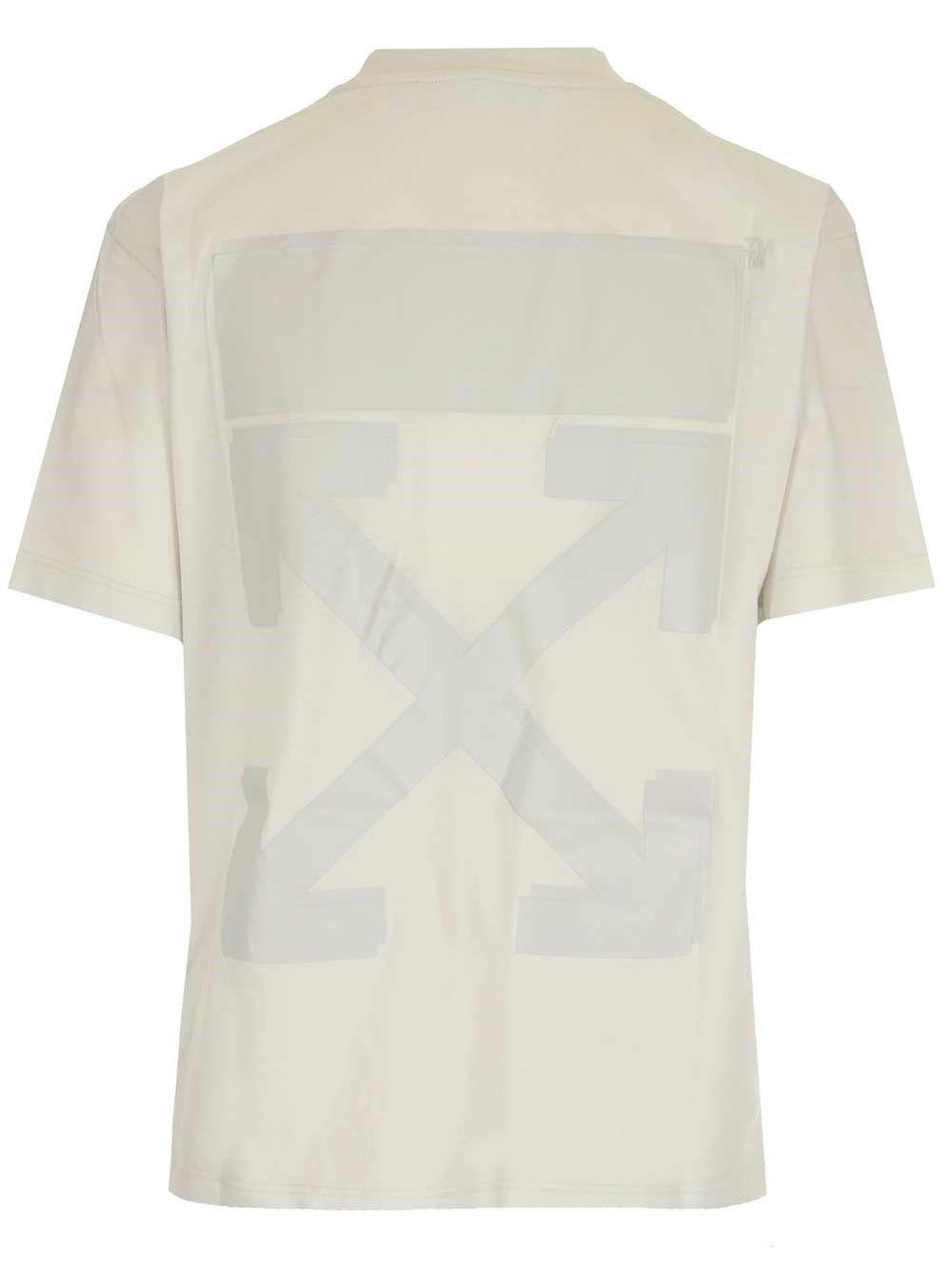 OFF-WHITE Cottons OFF-WHITE WOMEN'S WHITE COTTON T-SHIRT