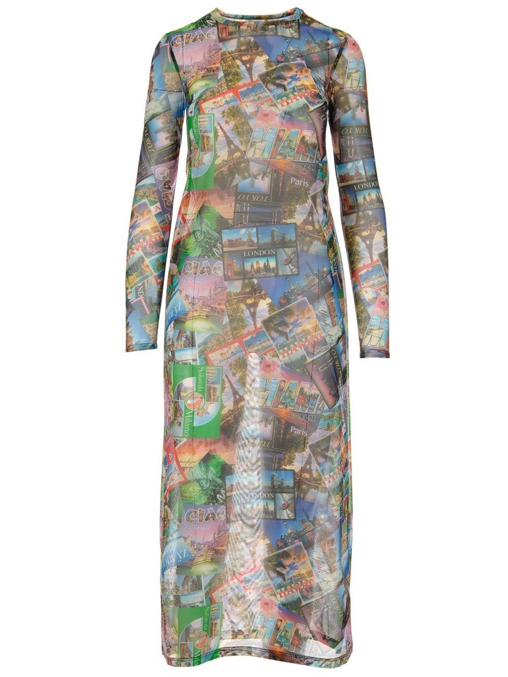 Balenciaga Dresses BALENCIAGA WOMEN'S MULTICOLOR DRESS